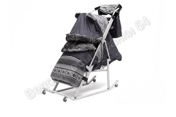 Санки-коляска Скандинавия 4УМ Софт