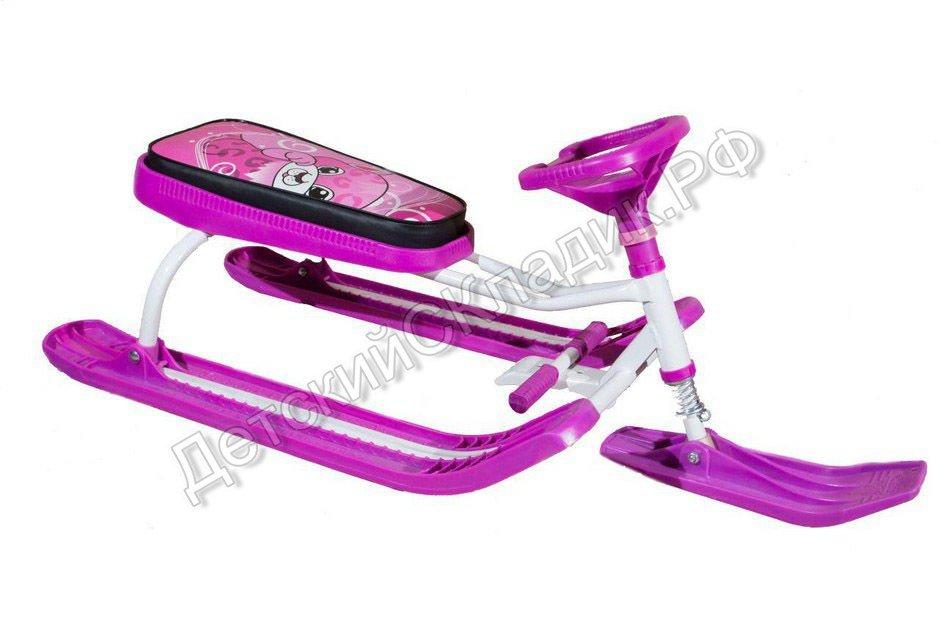 watermarked-розовый тяни-толкай