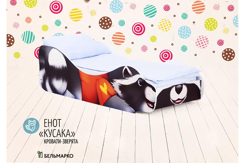 Детская кровать-Енот - Кусака-1