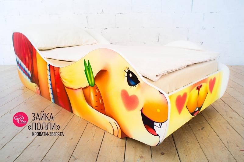 Детская кровать -Зайка - Полли-