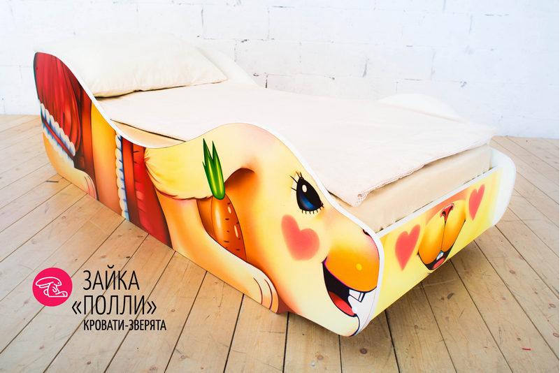 Детская кровать -Зайка -Полли-