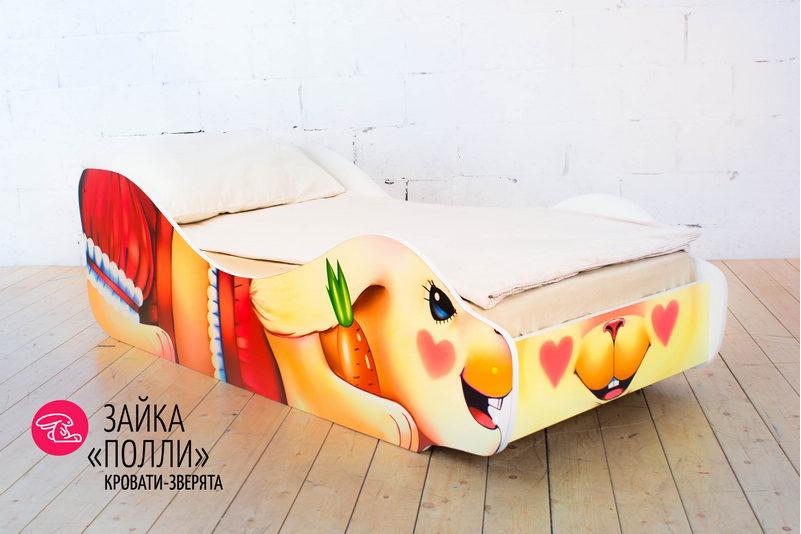 Детская кровать -Зайка- Полли-