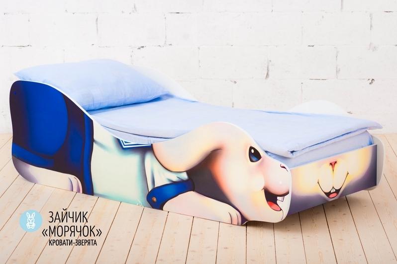 Детская кровать -Заяц- Морячок-