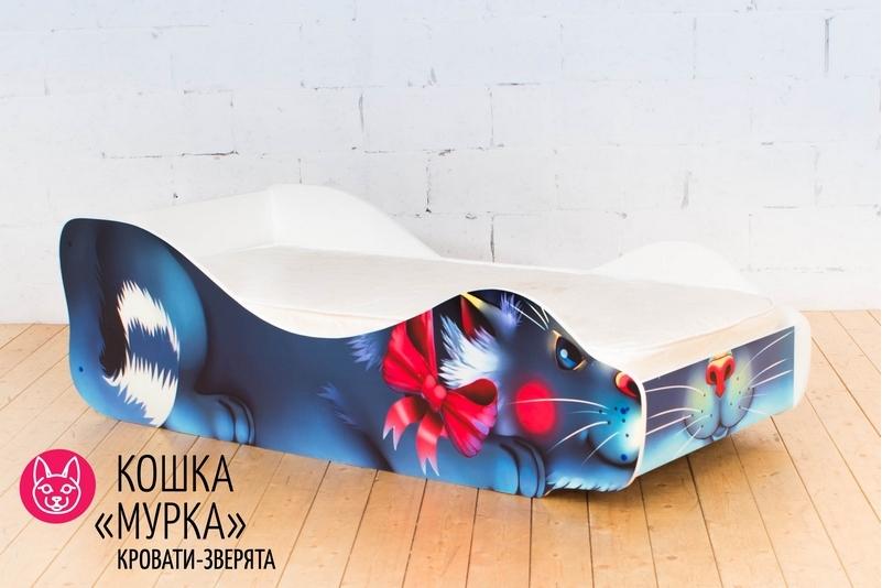 Детская кровать -Кошка- Мурка-