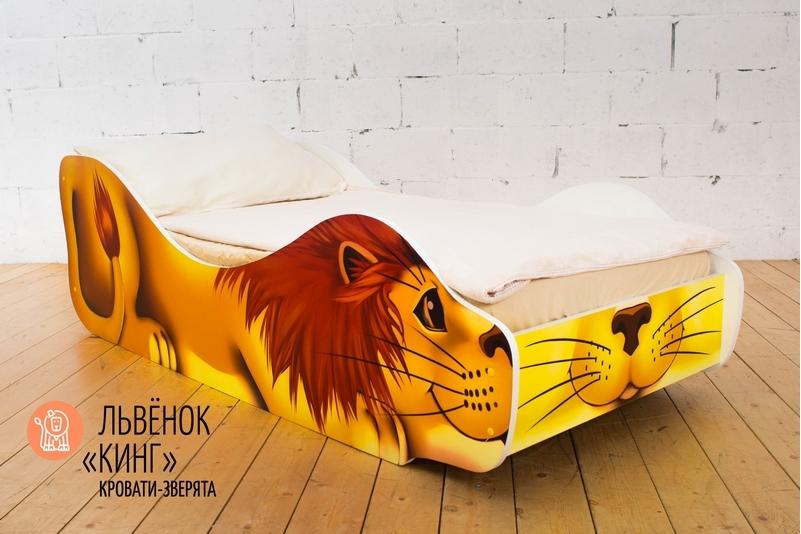 Детская кровать -Лев -Кинг-