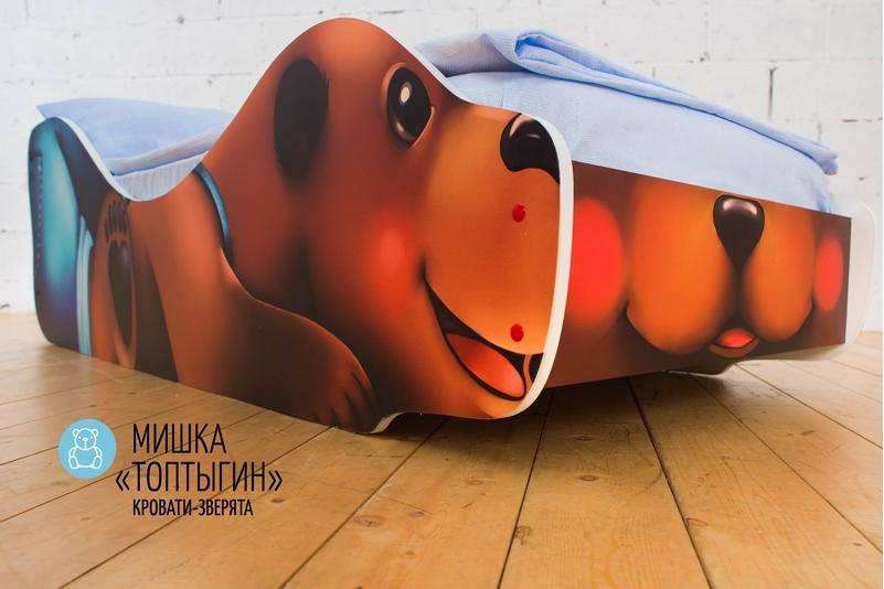 Детская кровать -Мишка-Топтыгин-