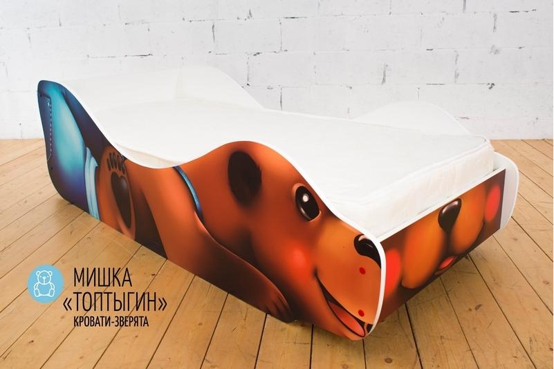 Детская кровать -Мишка- Топтыгин-
