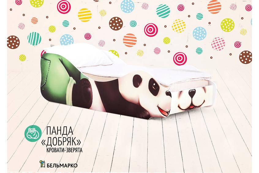 Детская кровать -Панда-Добряк-1
