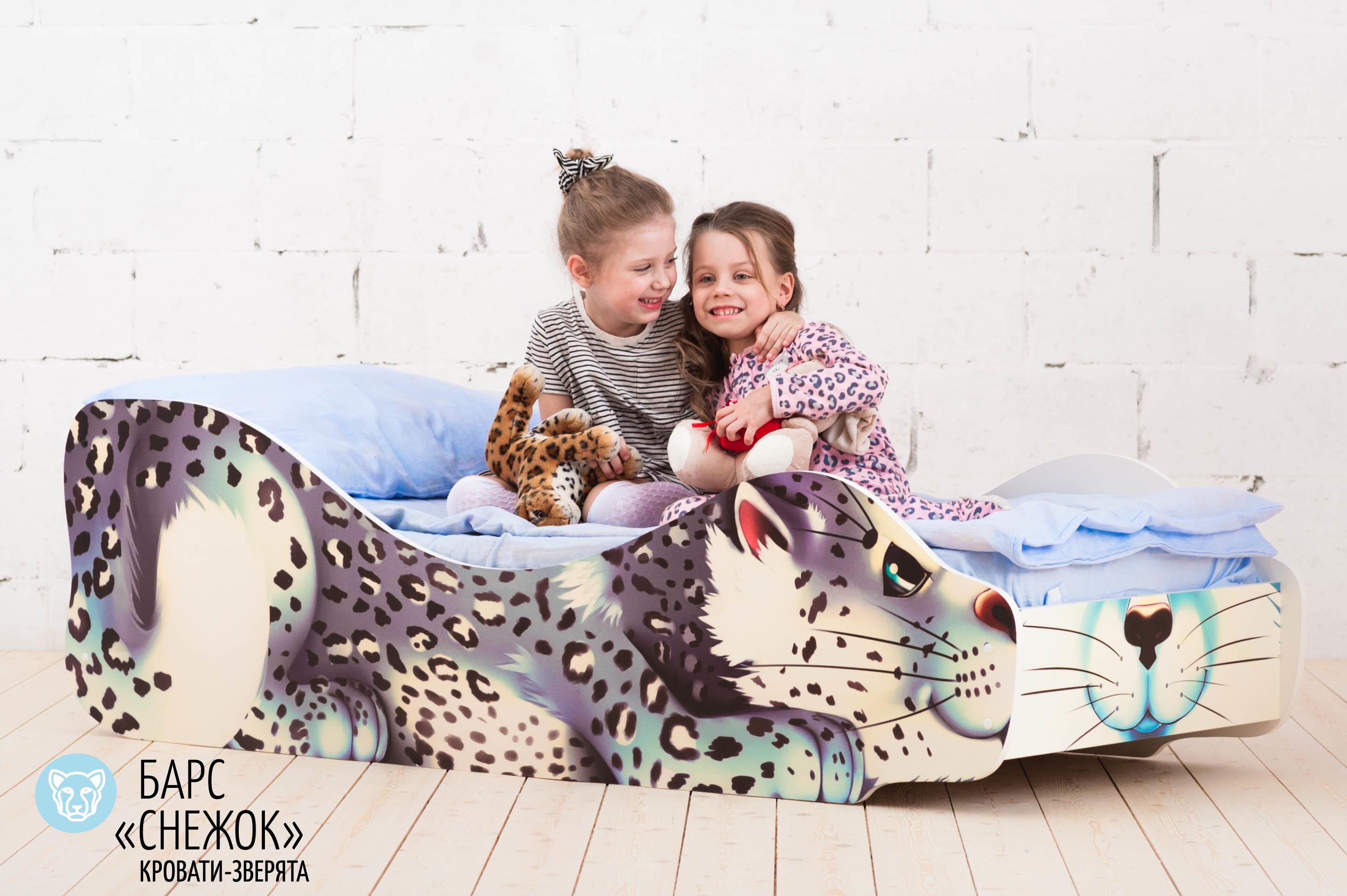 Детская кровать-зверенок -Барс-Снежок-16