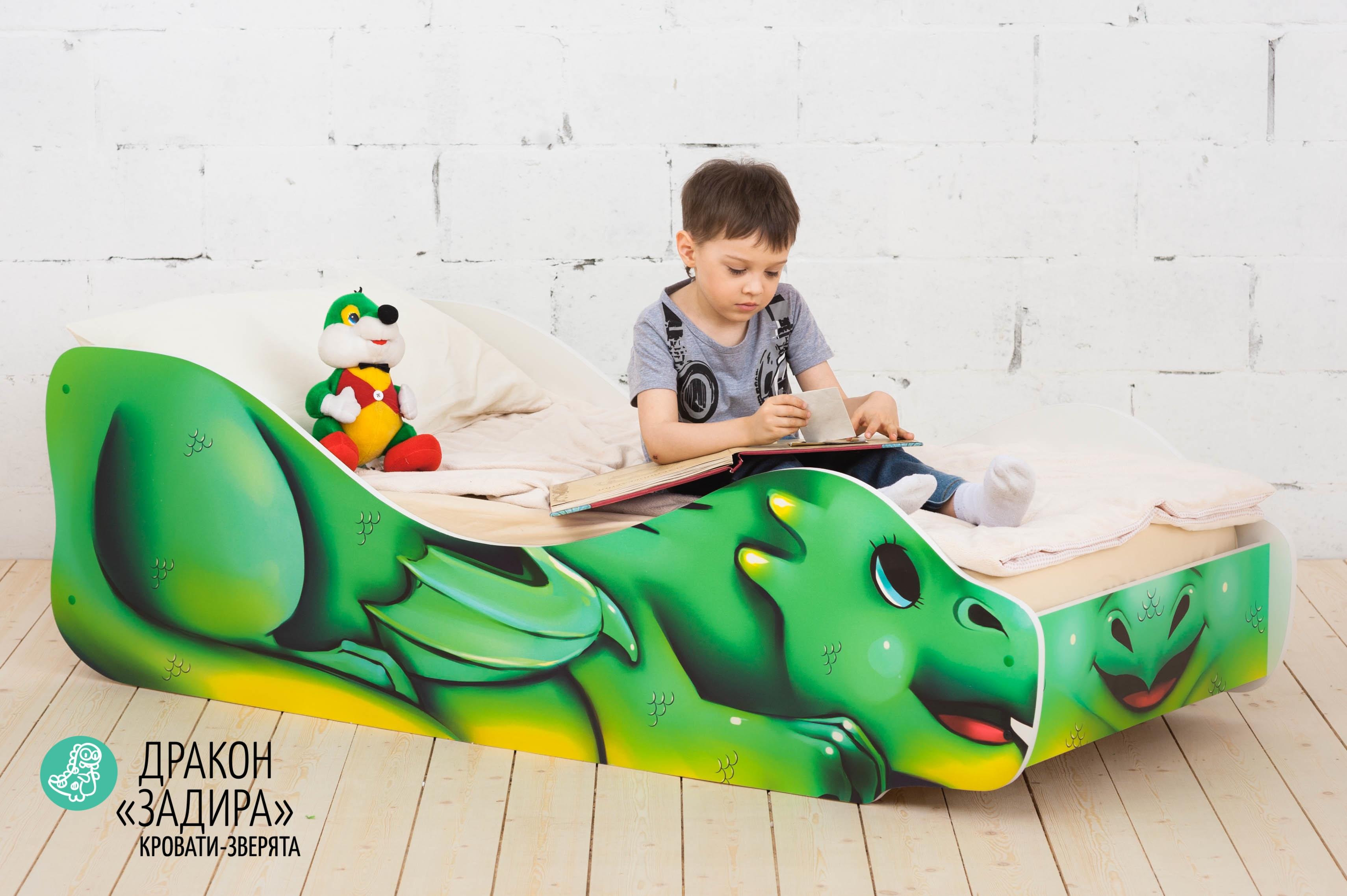 Детская кровать-зверенок -Дракон-Задира-10