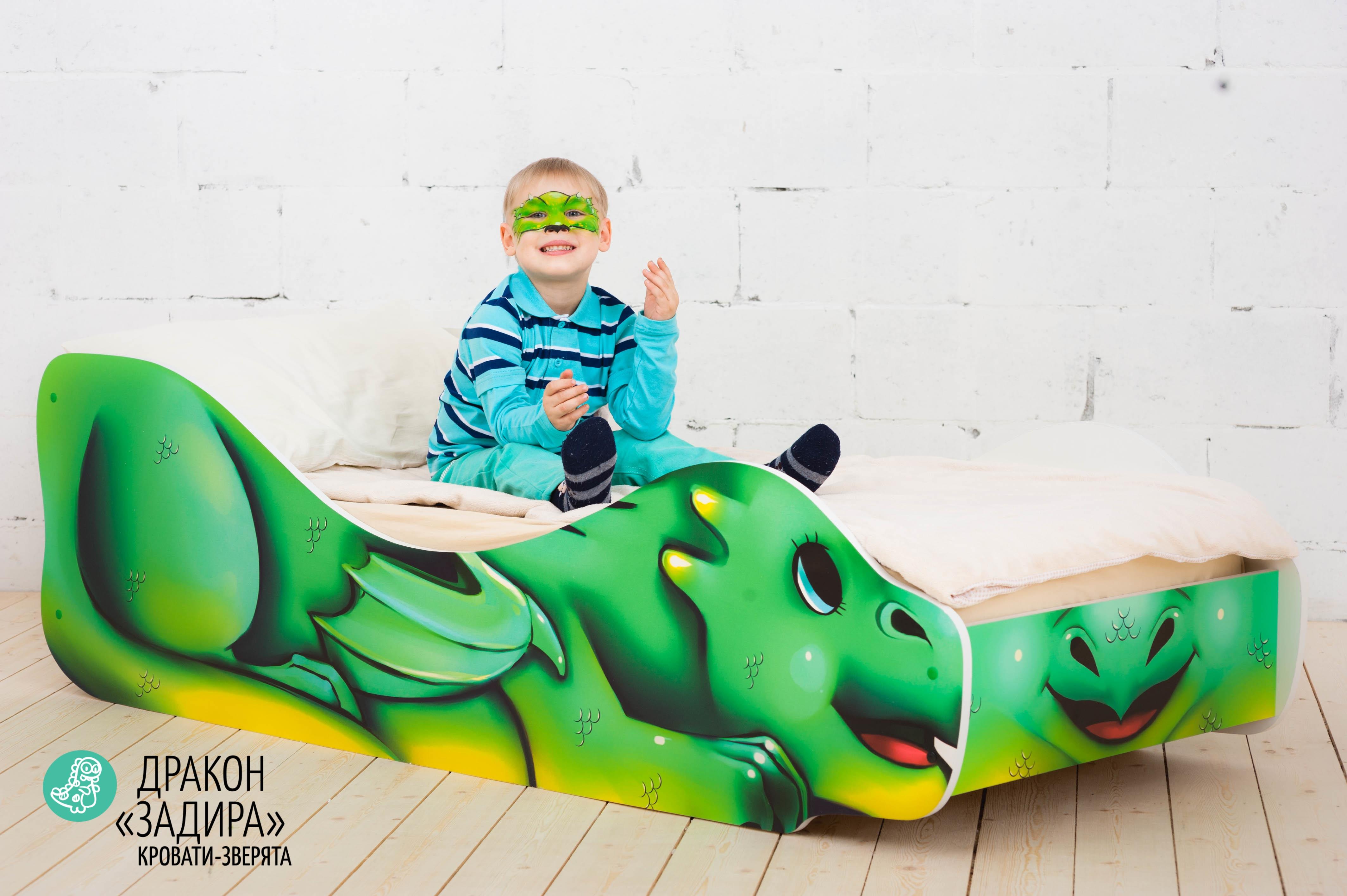 Детская кровать-зверенок -Дракон-Задира-12
