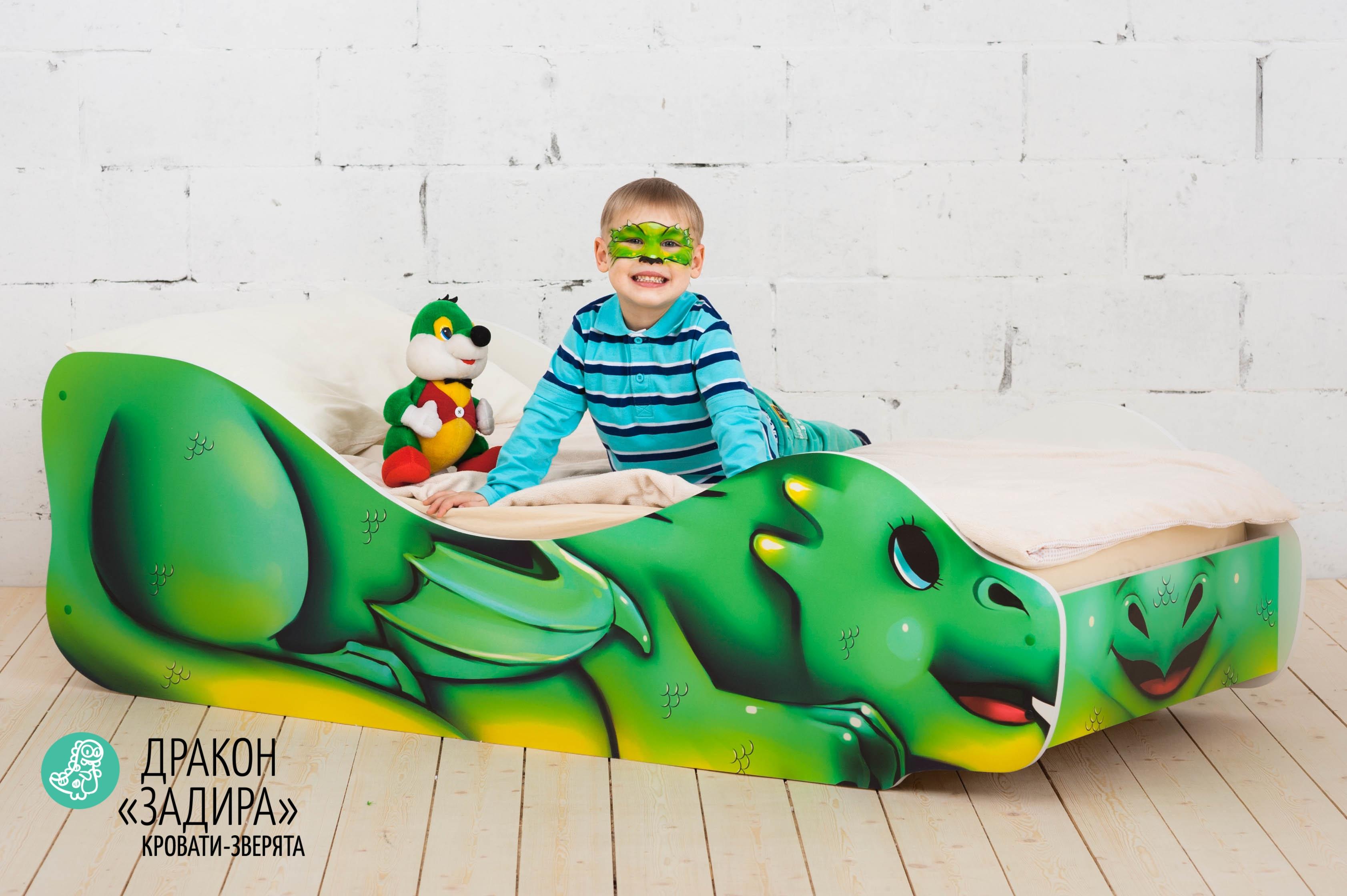 Детская кровать-зверенок -Дракон-Задира-14