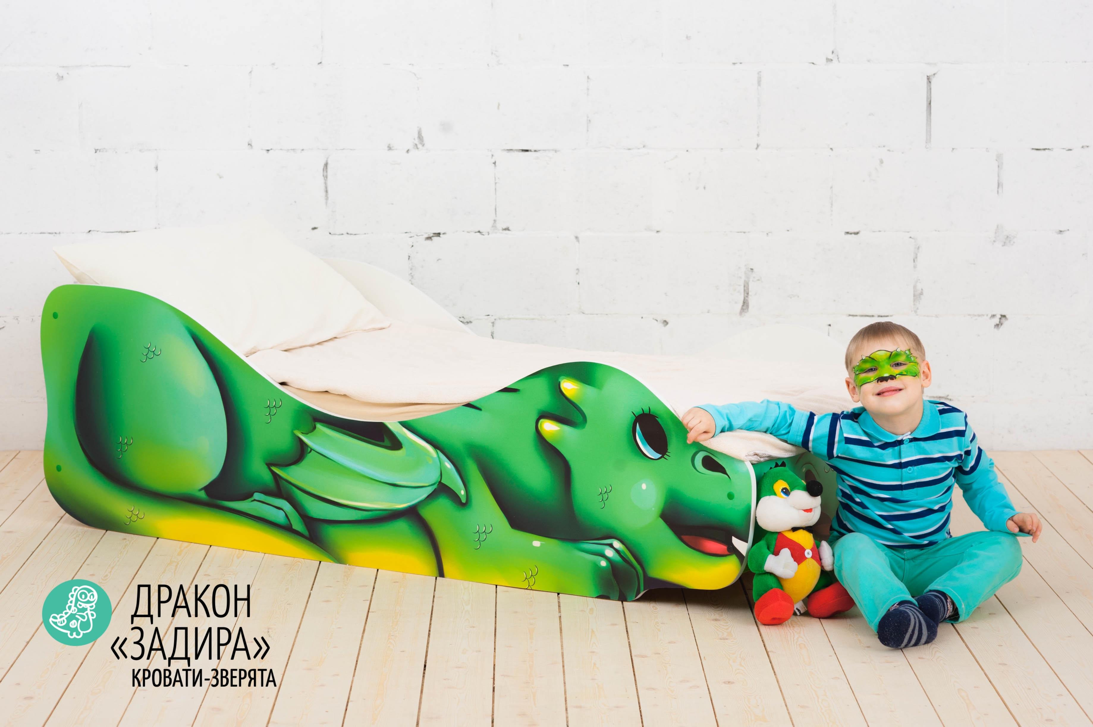 Детская кровать-зверенок -Дракон-Задира-19
