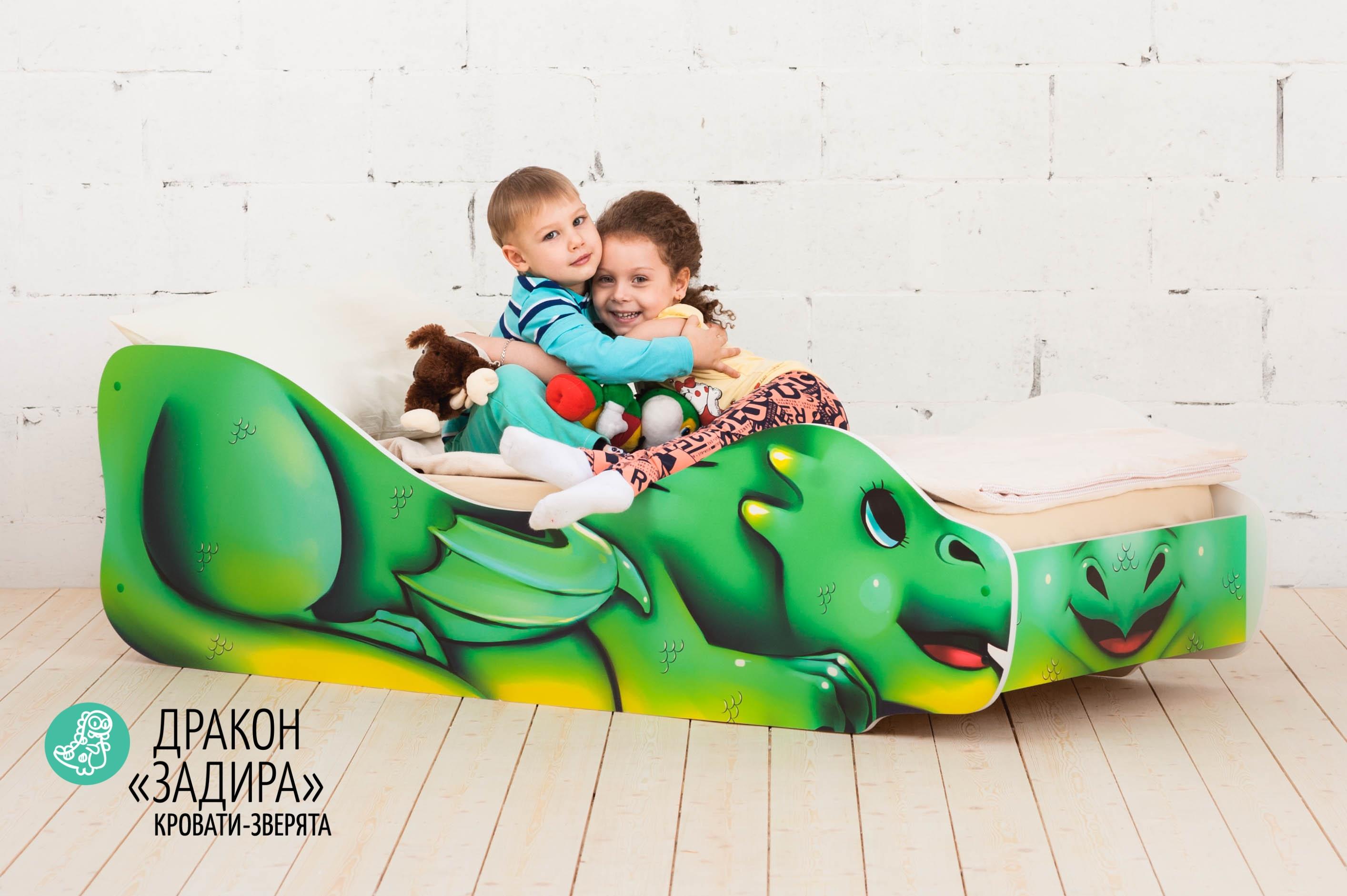 Детская кровать-зверенок -Дракон-Задира-4