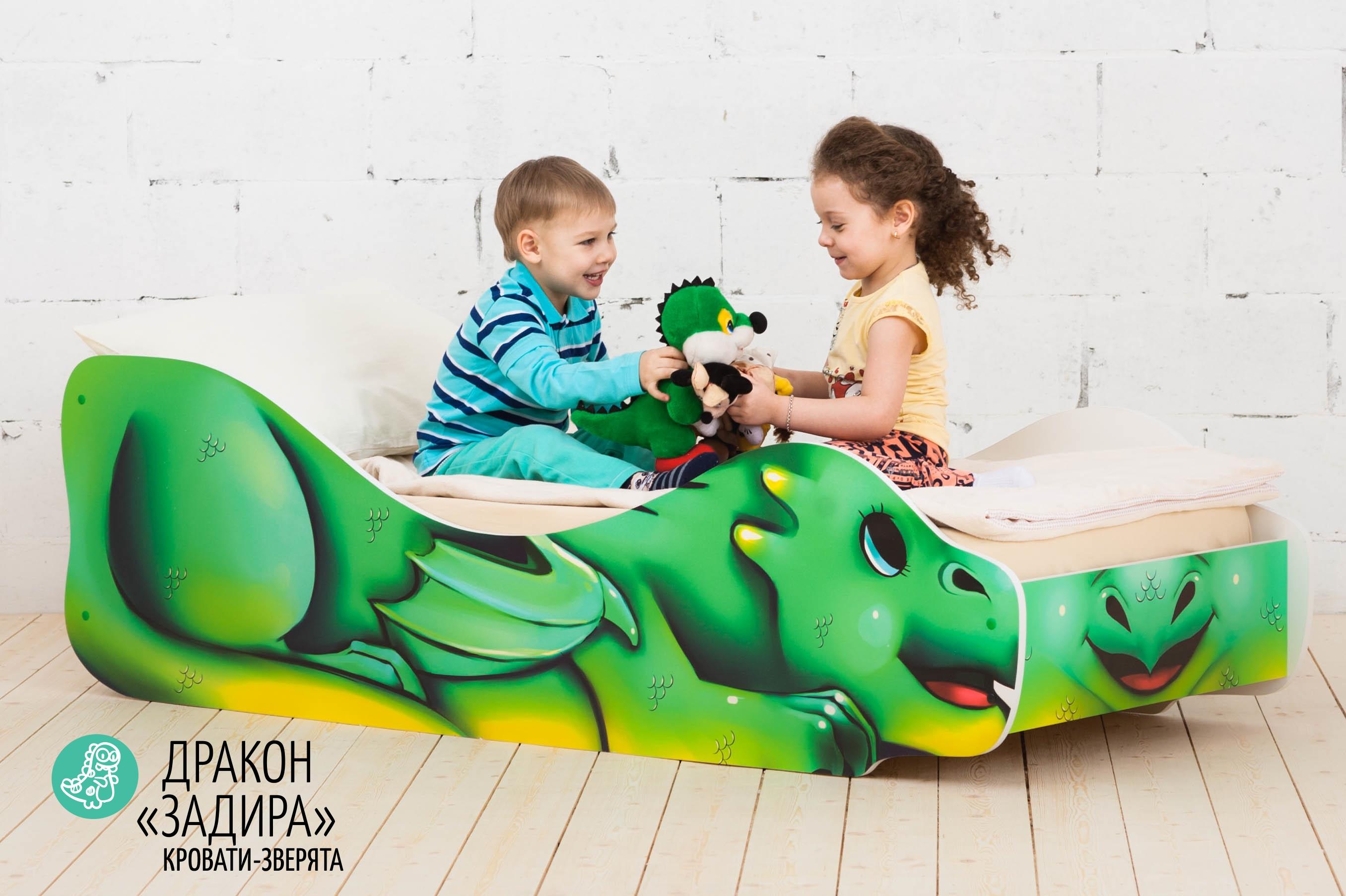 Детская кровать-зверенок -Дракон-Задира-6