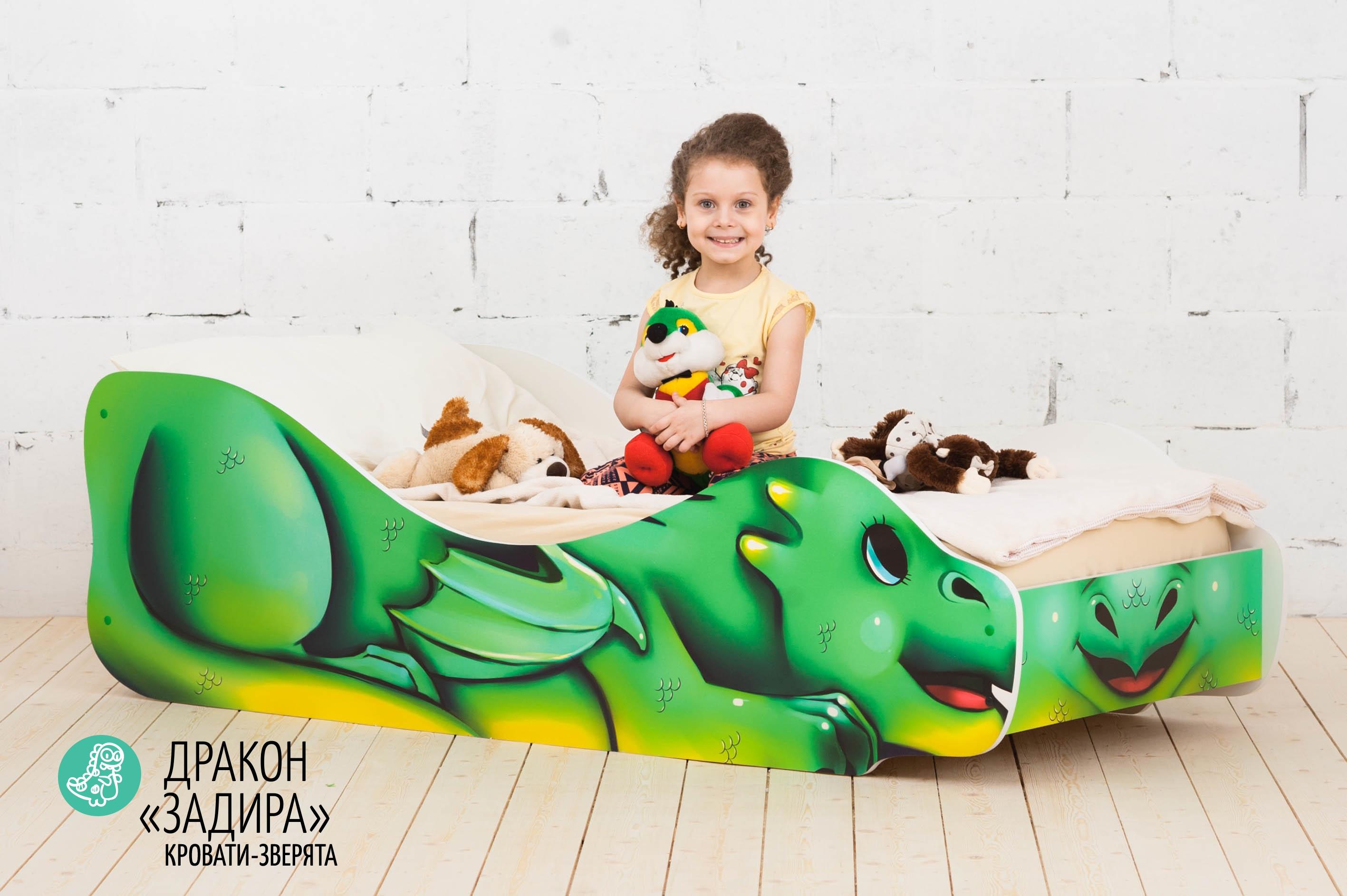 Детская кровать-зверенок -Дракон-Задира-8