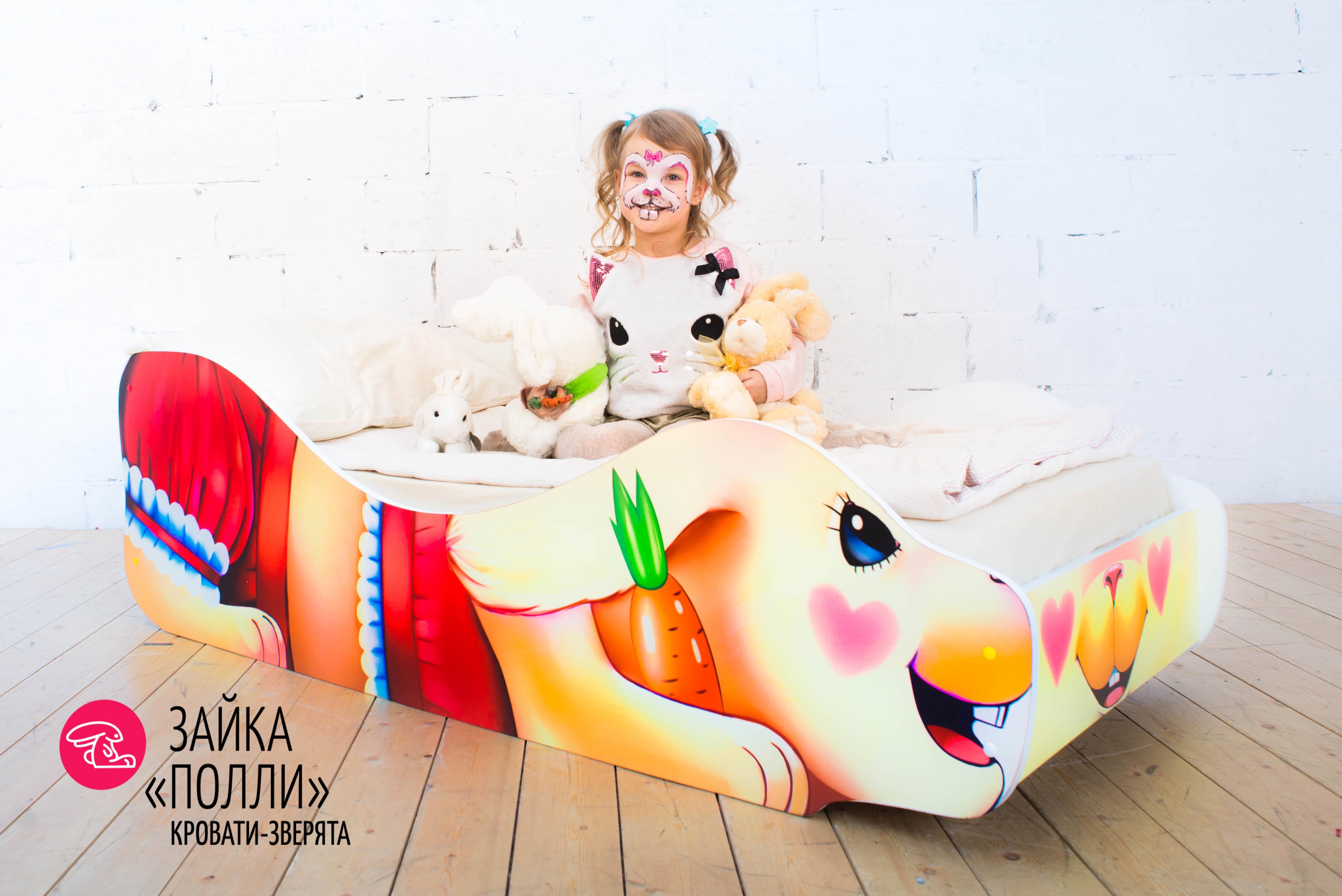 Детская кровать-зверенок -Зайка-Полли-4