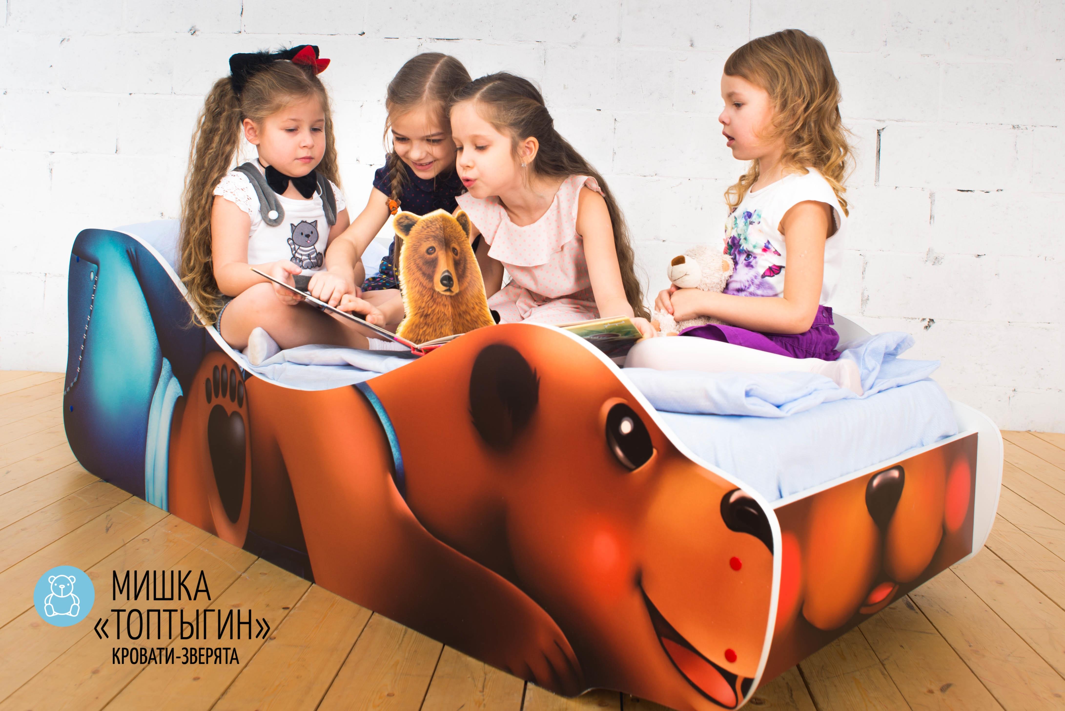 Детская кровать-зверенок -Мишка-Топтыгин-10