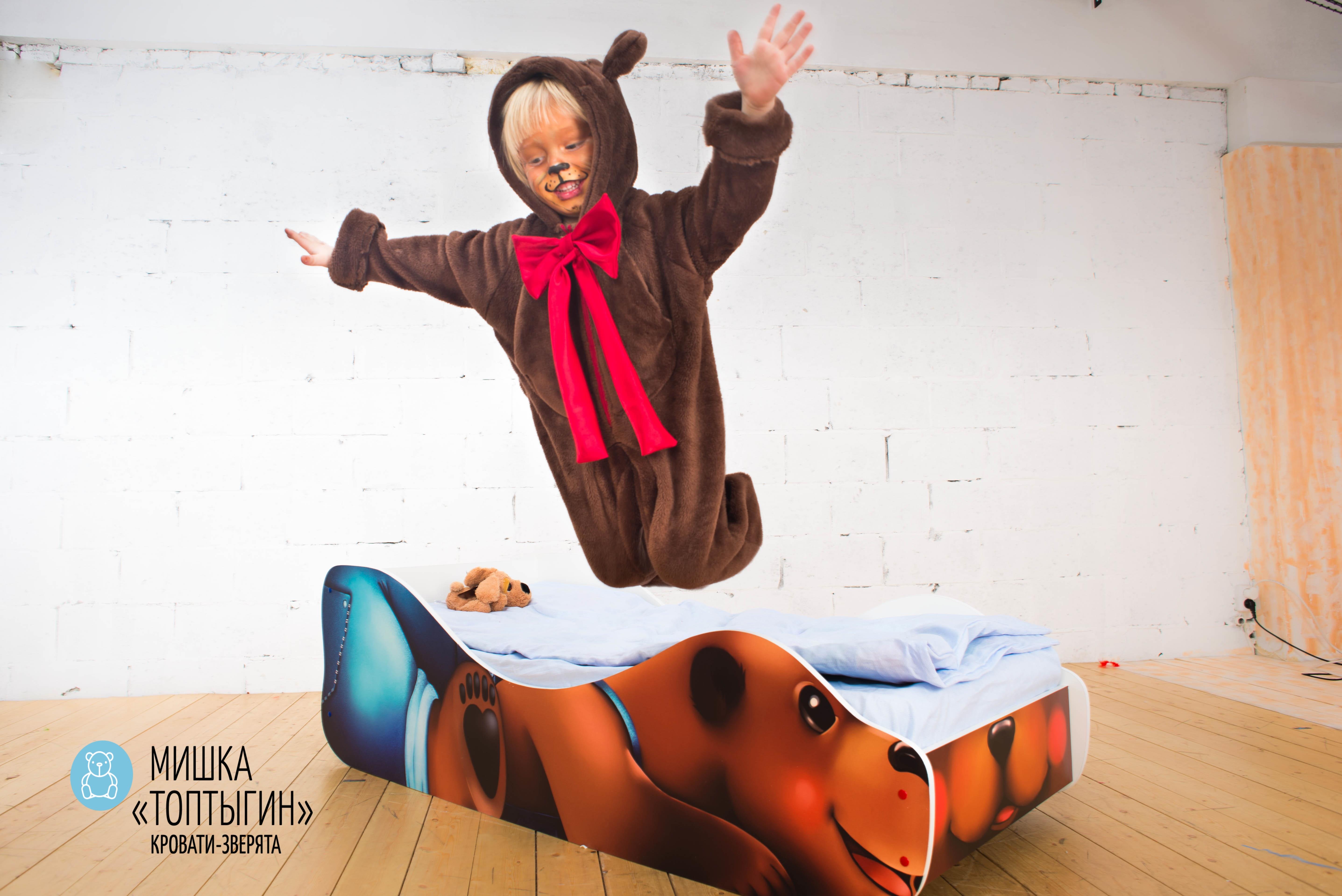 Детская кровать-зверенок -Мишка-Топтыгин-18