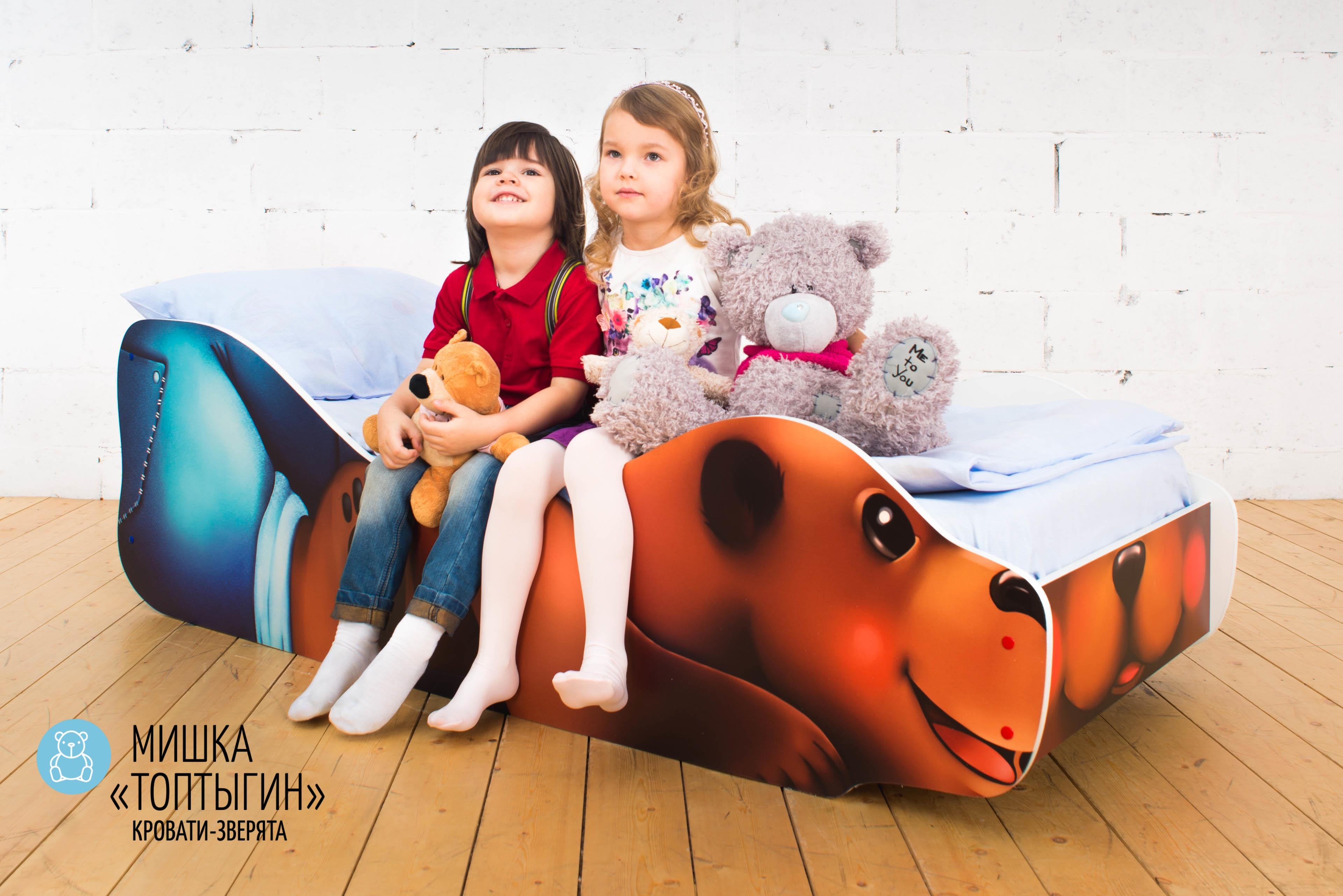 Детская кровать-зверенок -Мишка-Топтыгин-6