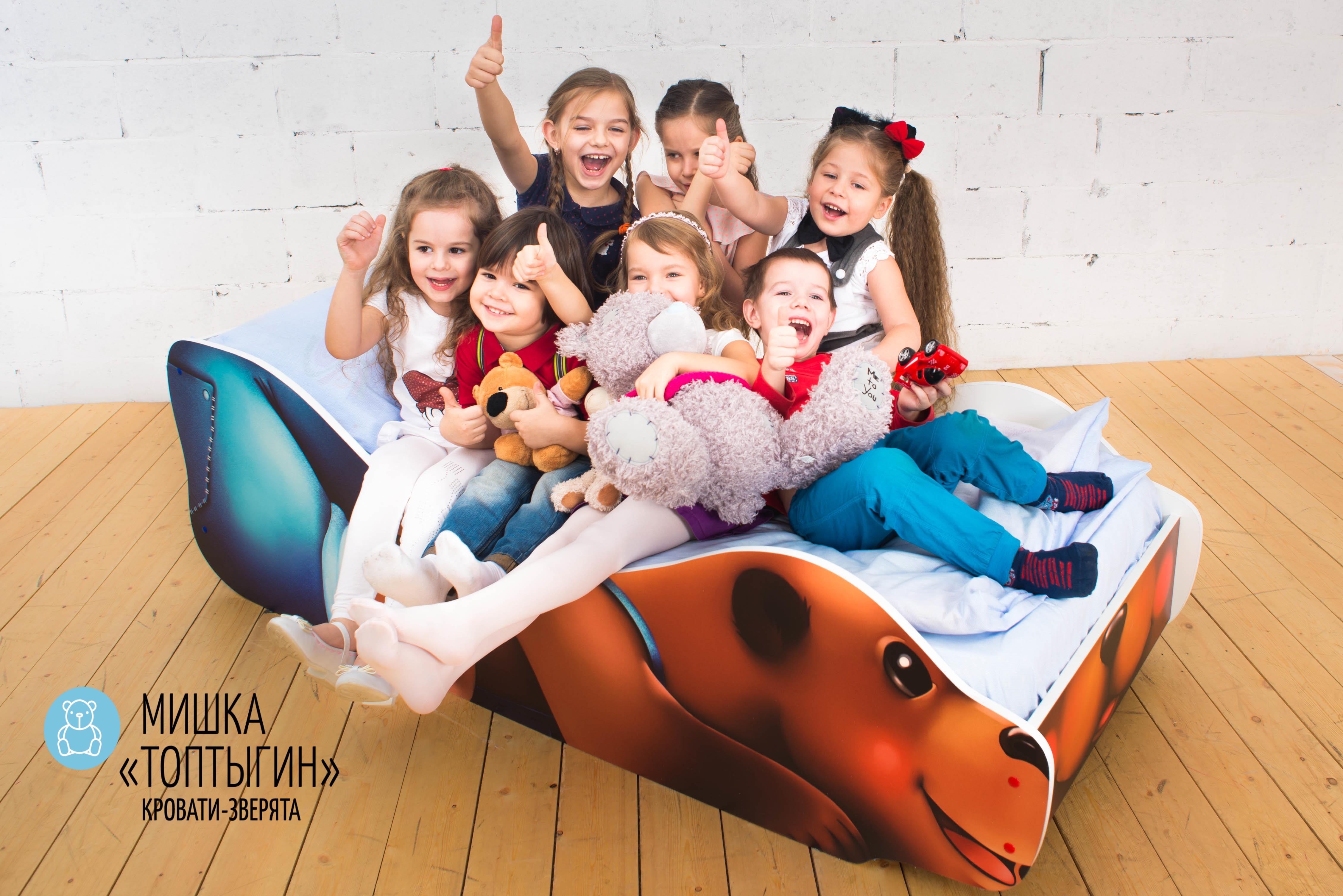 Детская кровать-зверенок -Мишка-Топтыгин-8