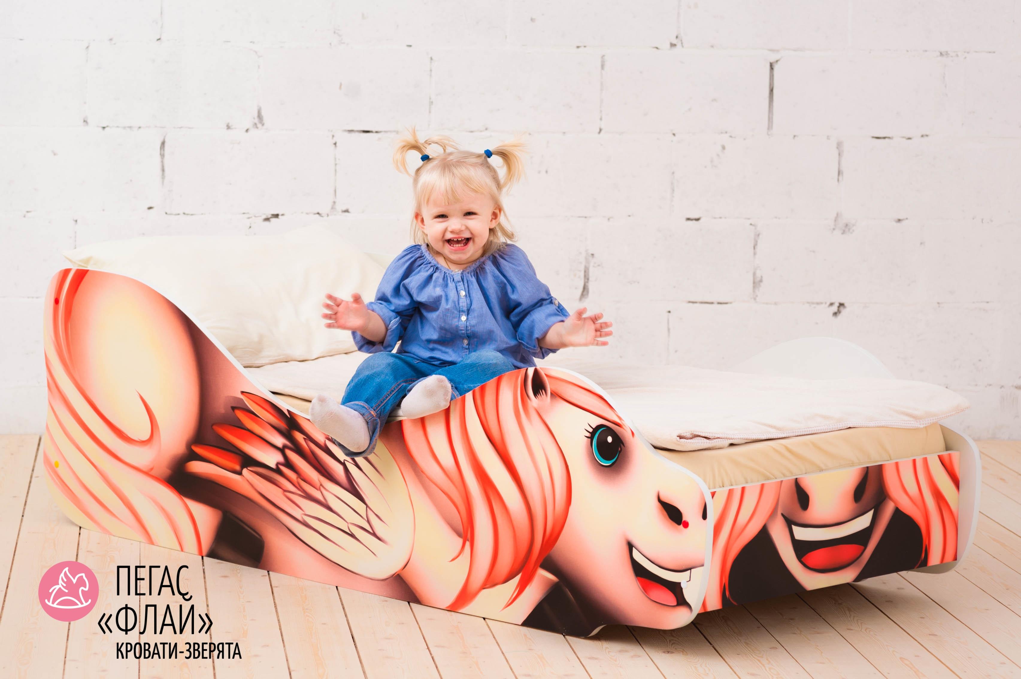 Детская кровать-зверенок -Пегас-Флай-15