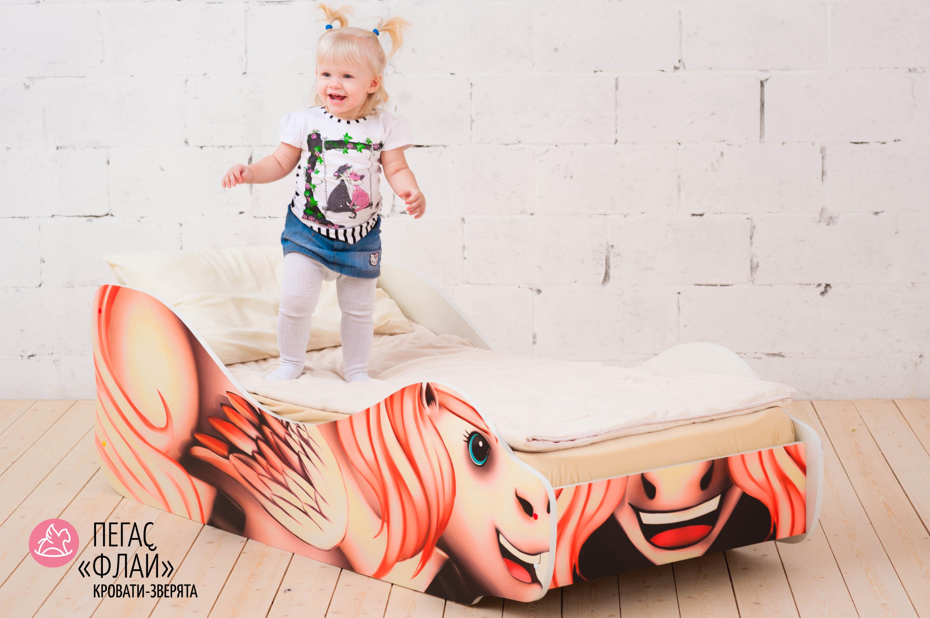 Детская кровать-зверенок -Пегас-Флай-5