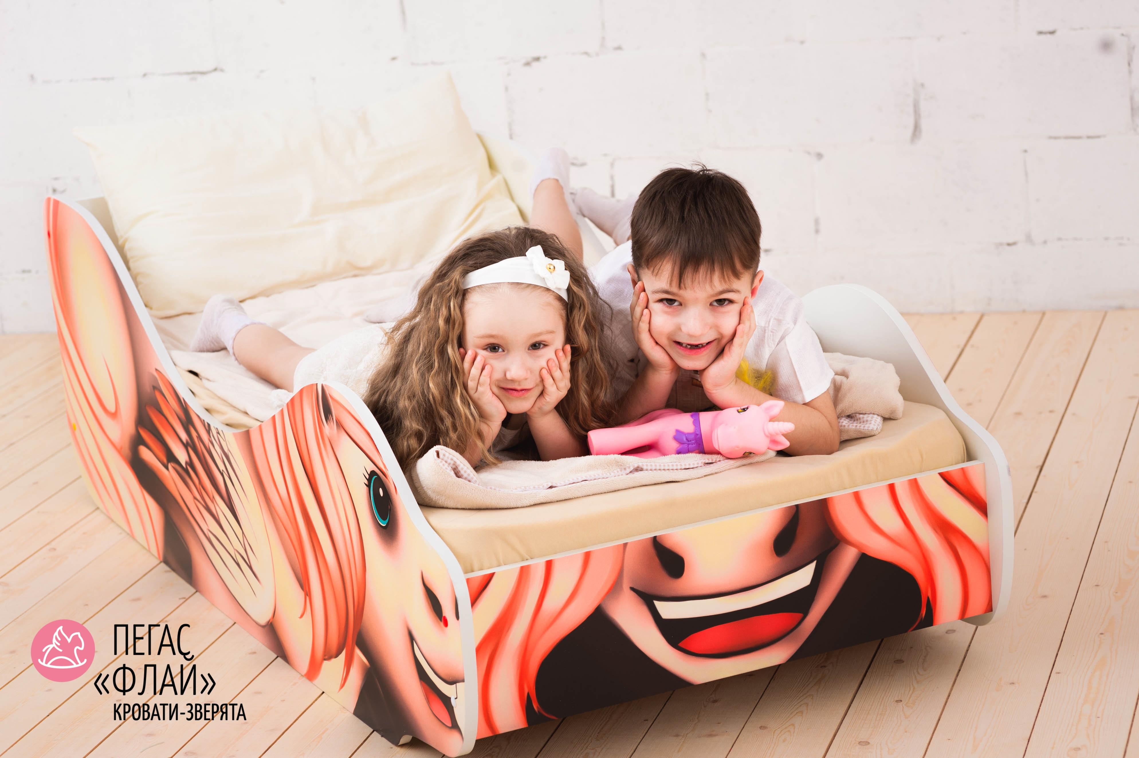 Детская кровать-зверенок -Пегас-Флай-8