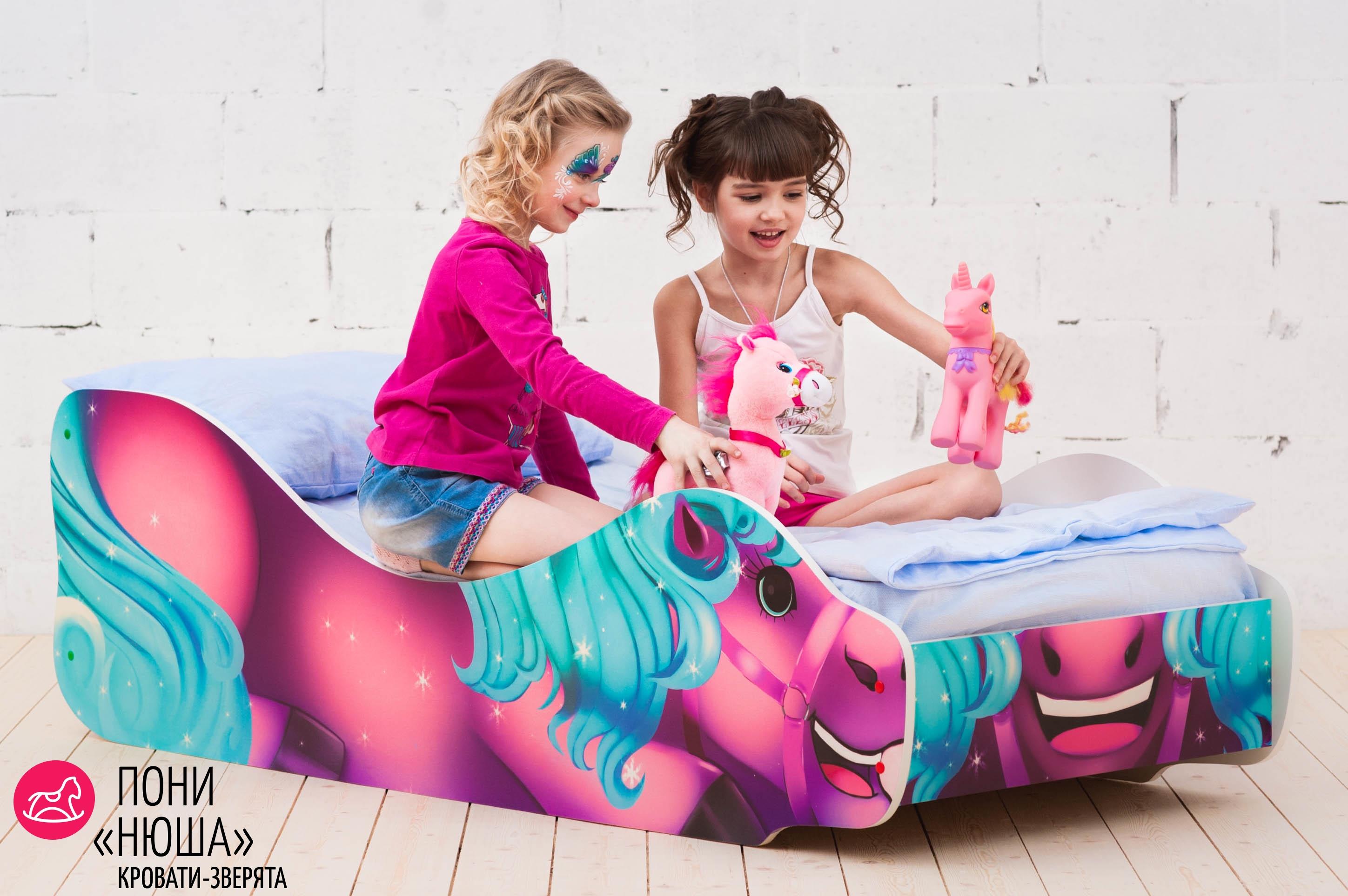 Детская кровать-зверенок -Пони-Нюша-12