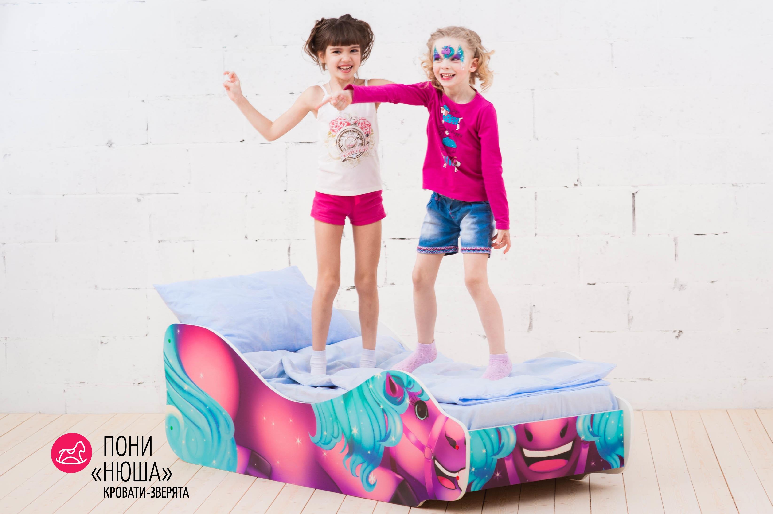 Детская кровать-зверенок -Пони-Нюша-17