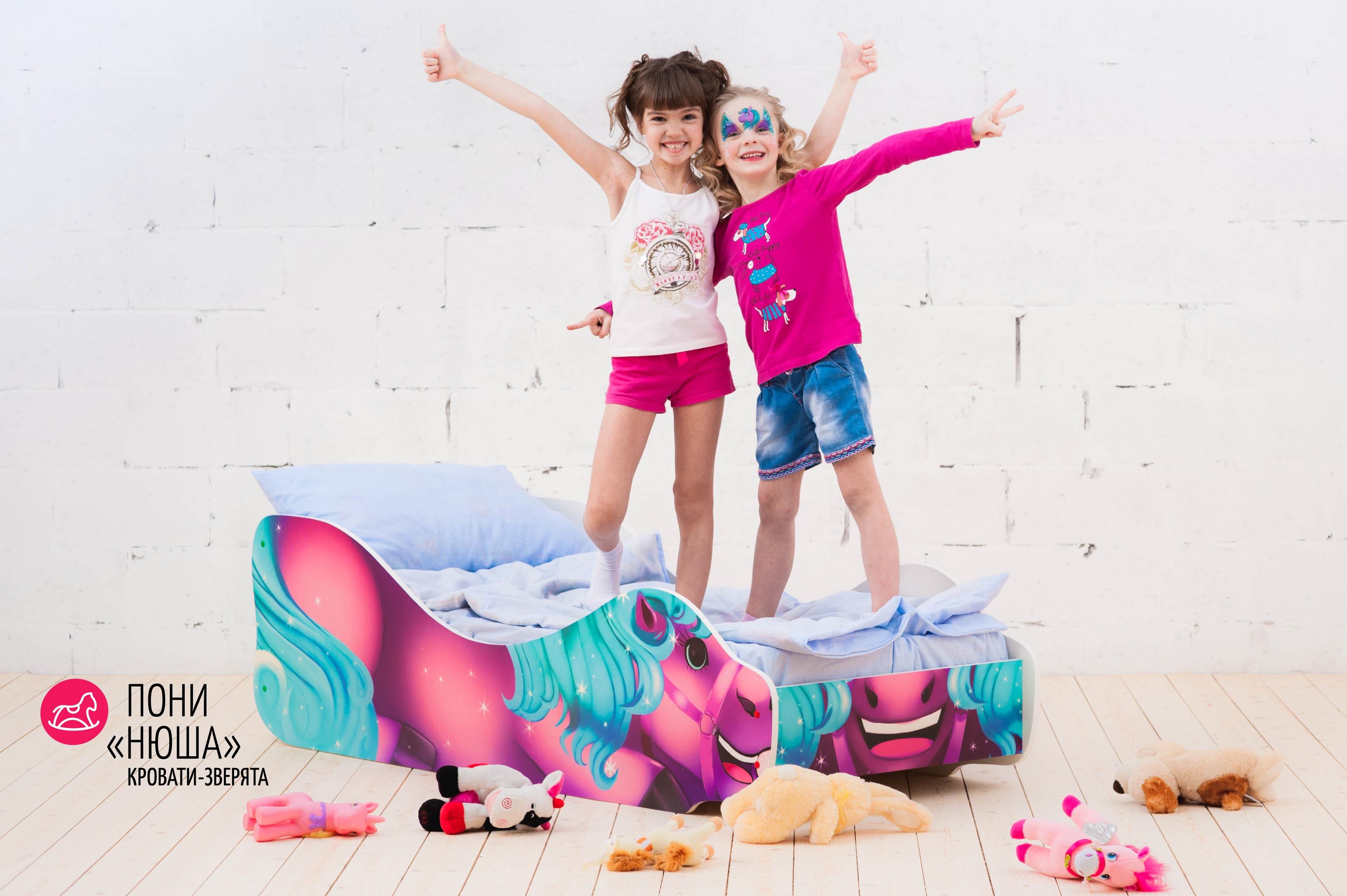 Детская кровать-зверенок -Пони-Нюша-19