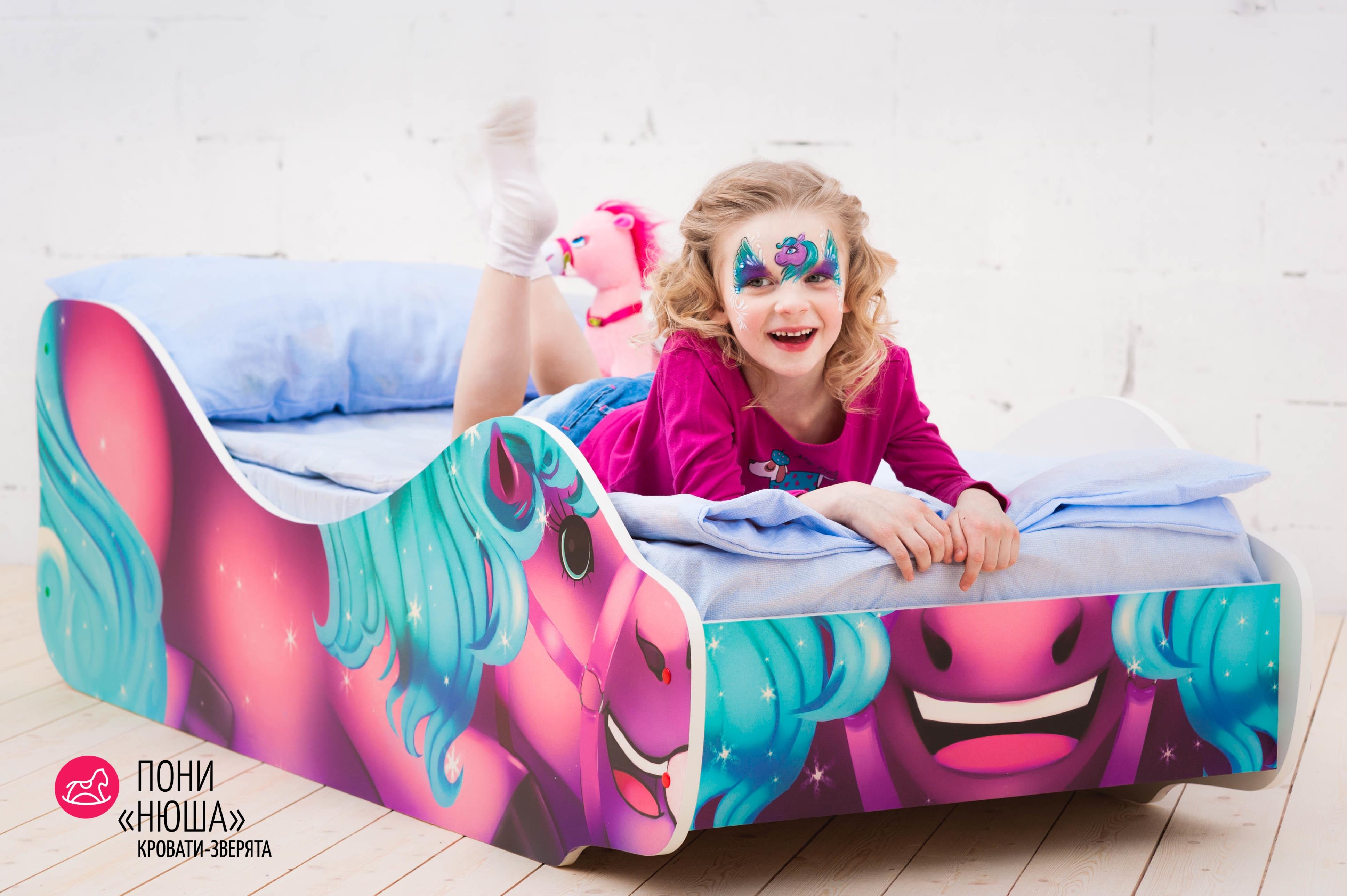 Детская кровать-зверенок -Пони-Нюша-6