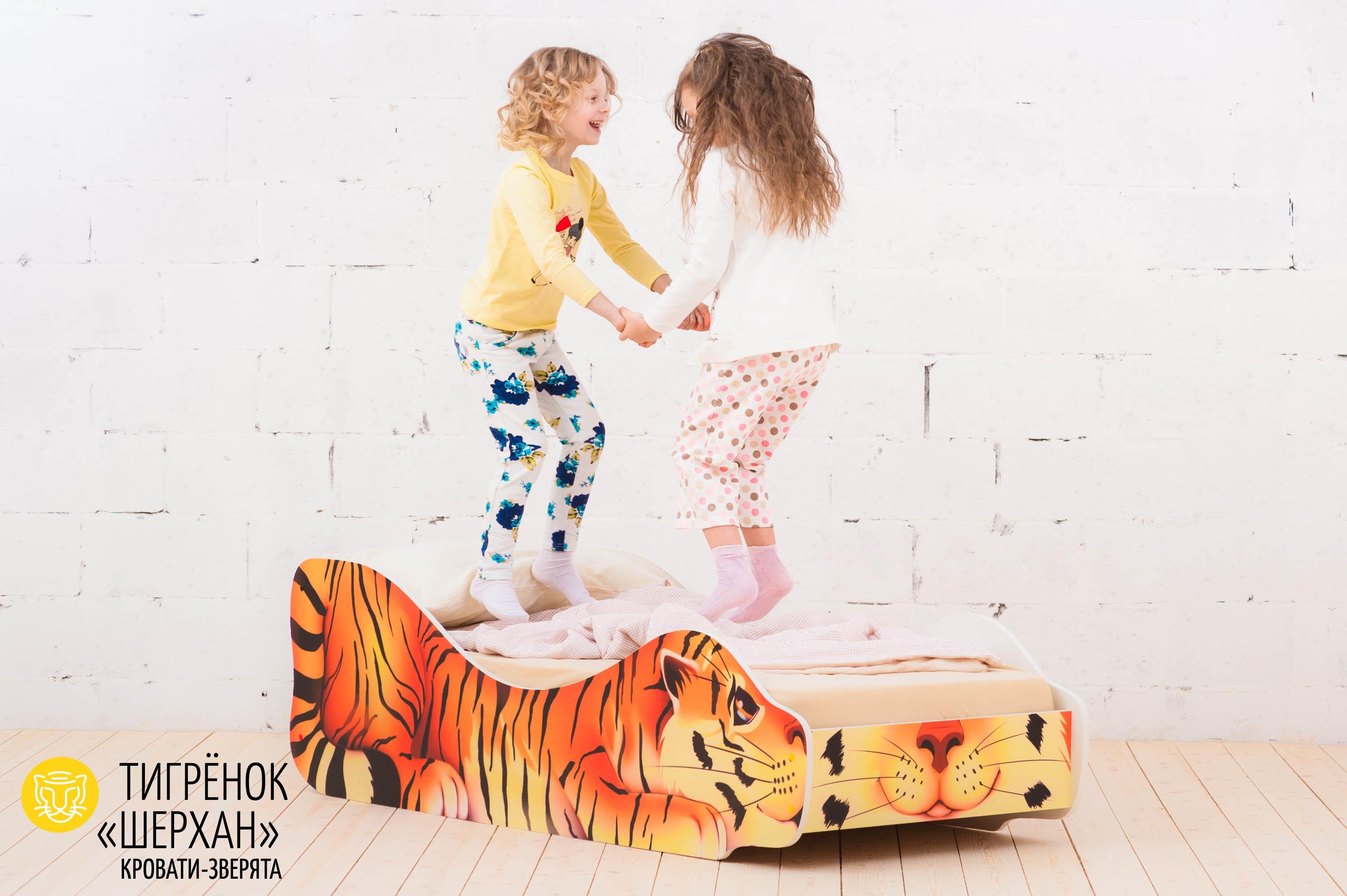Детская кровать-зверенок -Тигренок-Шерхан-11