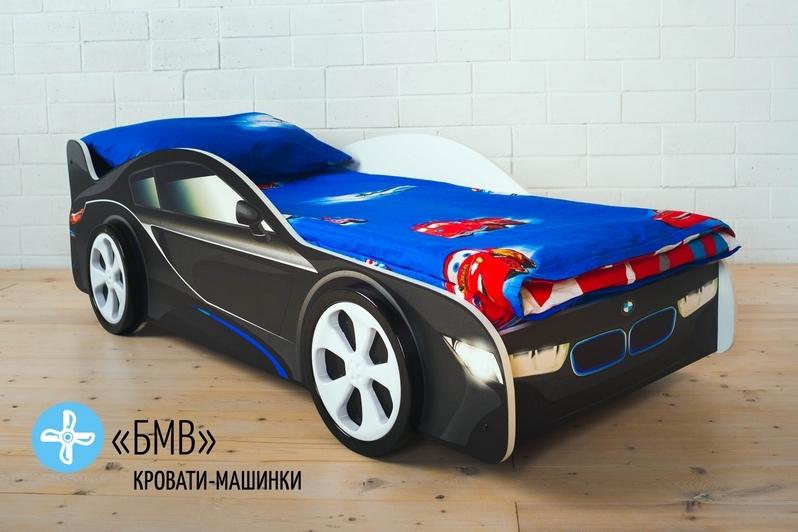 Детская кровать-машина -БМВ-3