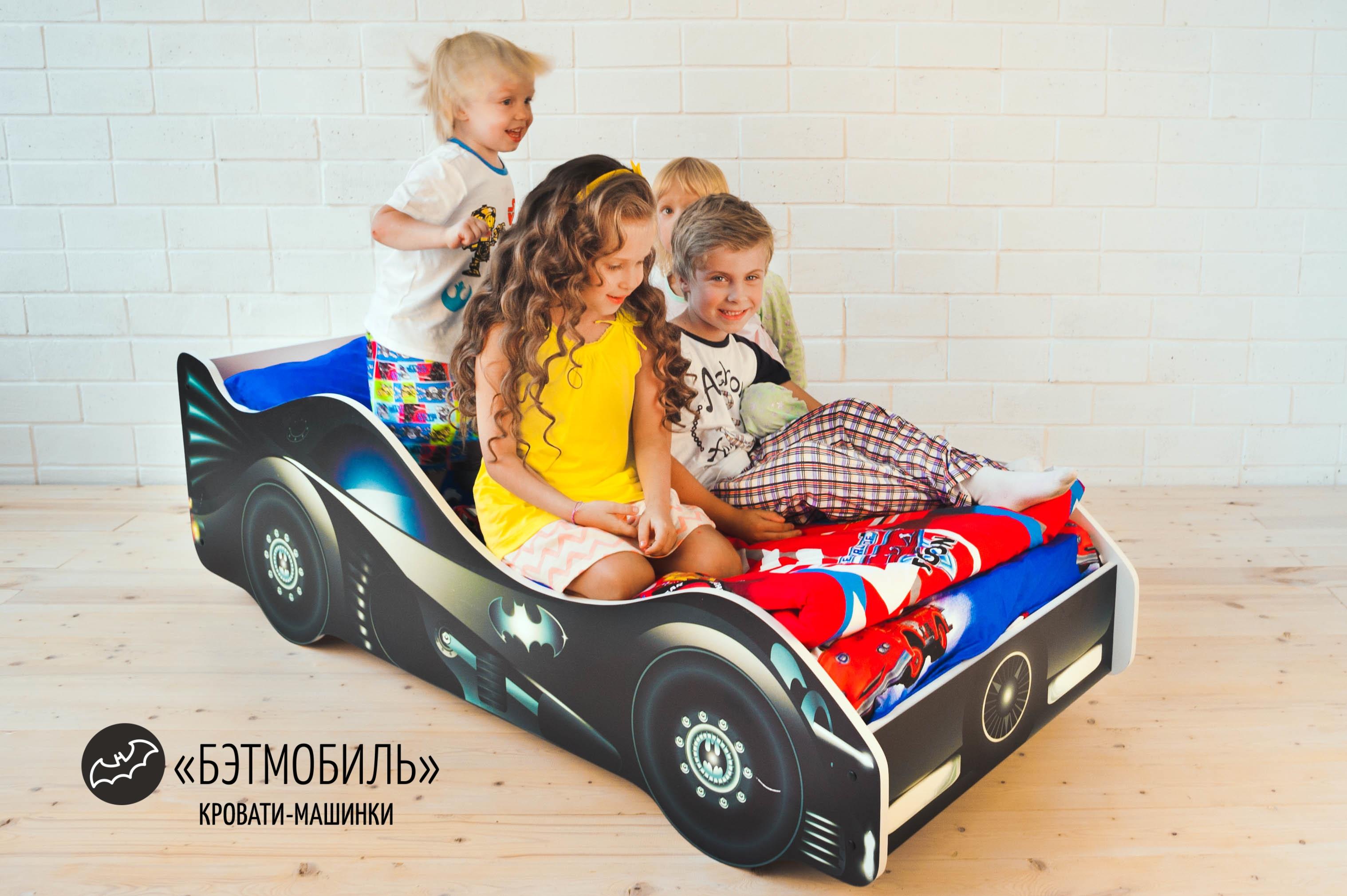 Детская кровать-машина -Бэтмобиль-2
