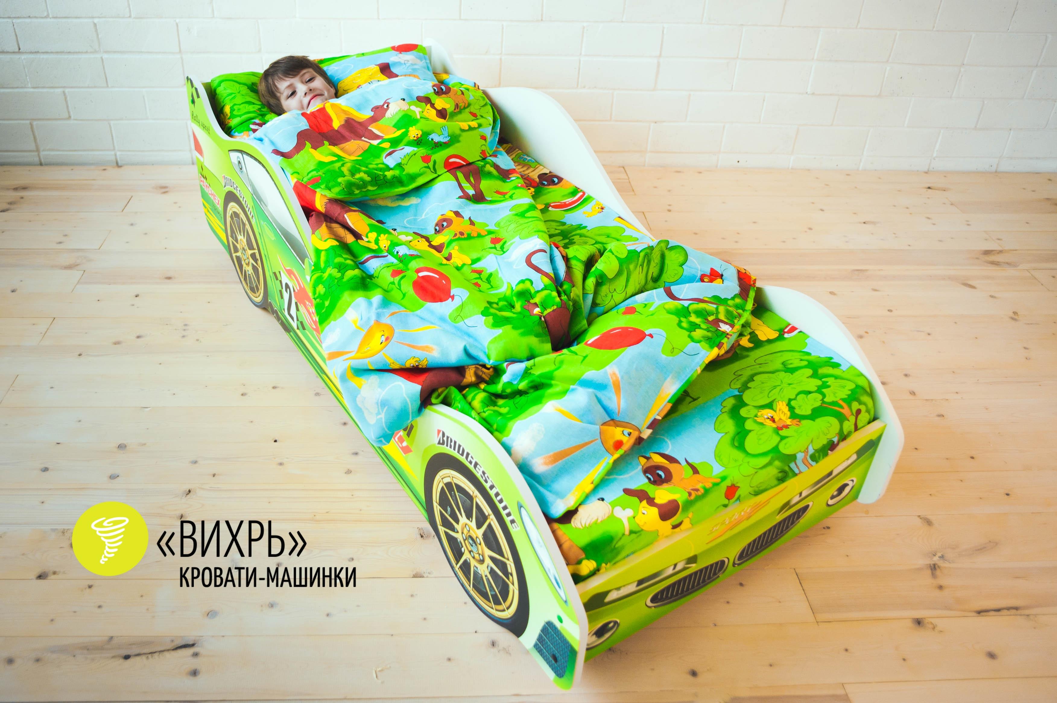 Детская кровать-машина -Вихрь-4