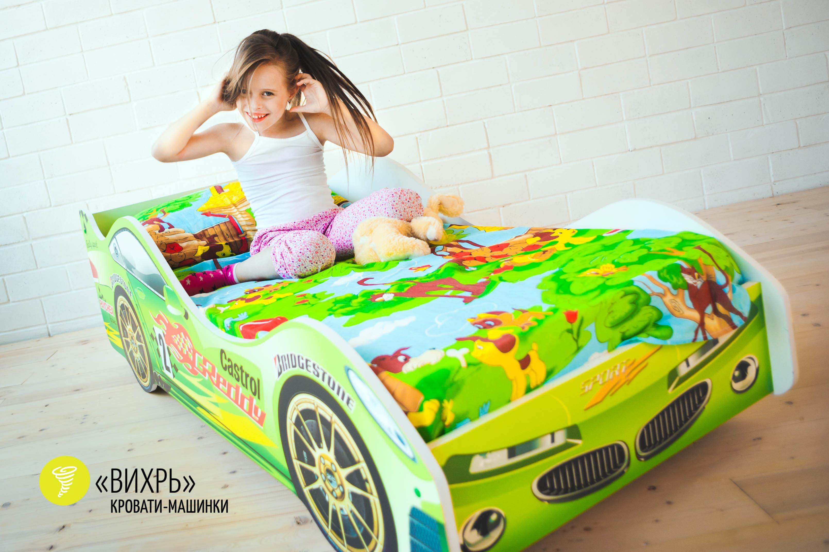 Детская кровать-машина -Вихрь-5