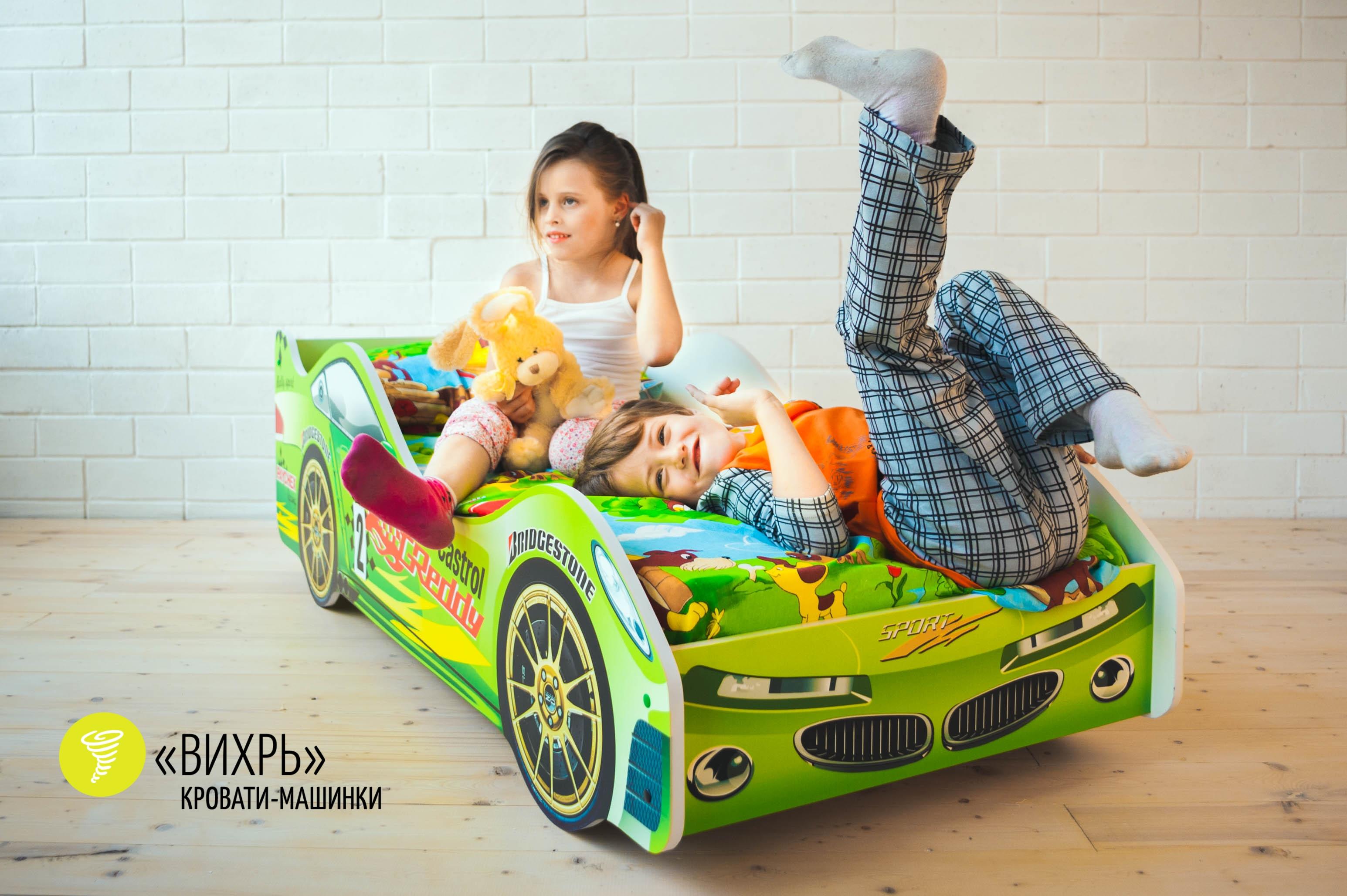 Детская кровать-машина -Вихрь-6