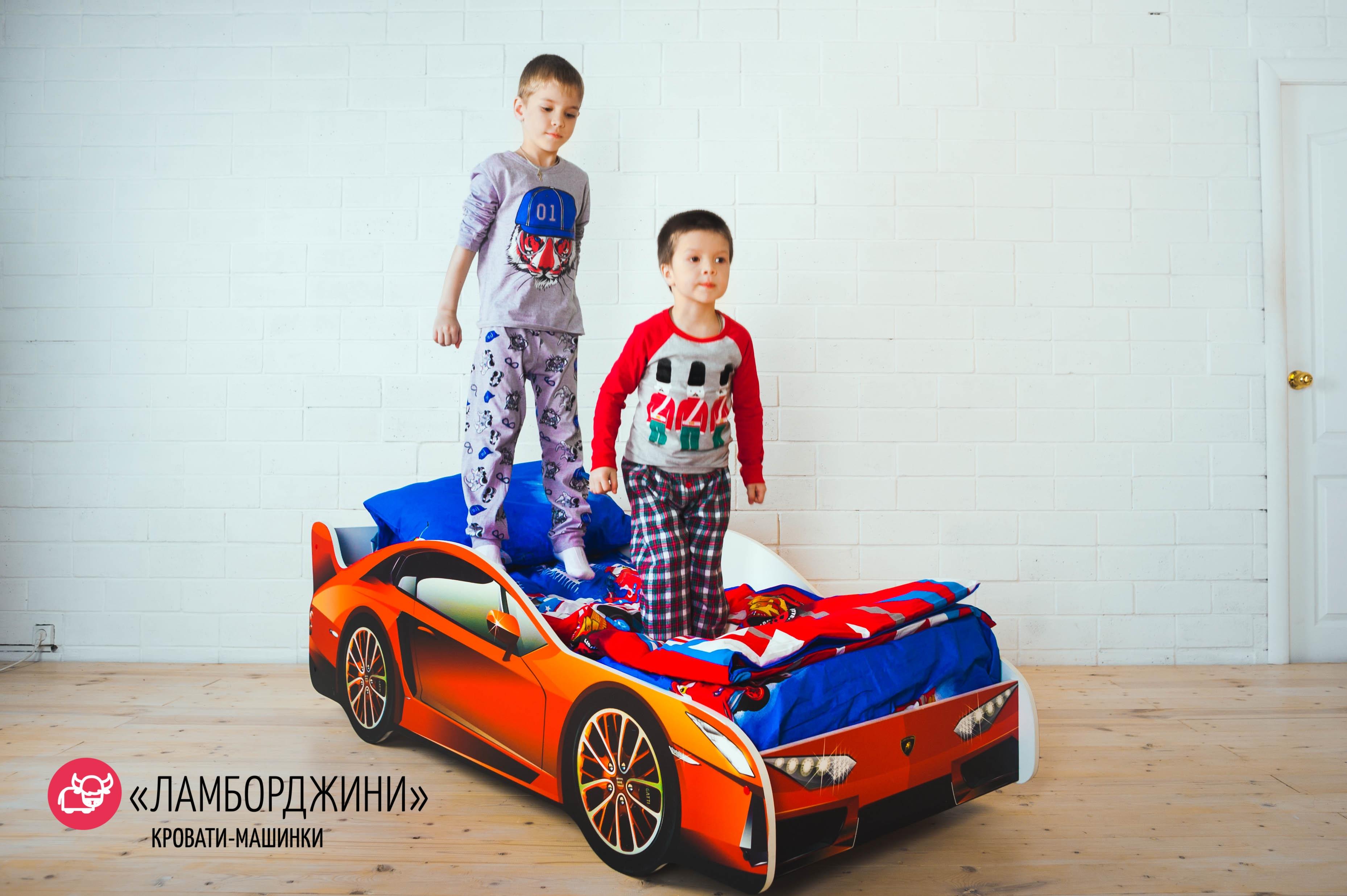 Детская кровать-машина -Ламборджини-1