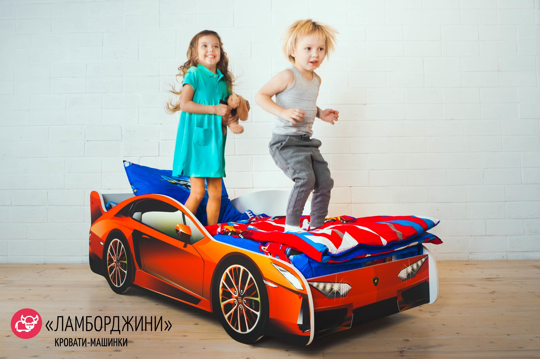 Детская кровать-машина -Ламборджини-13
