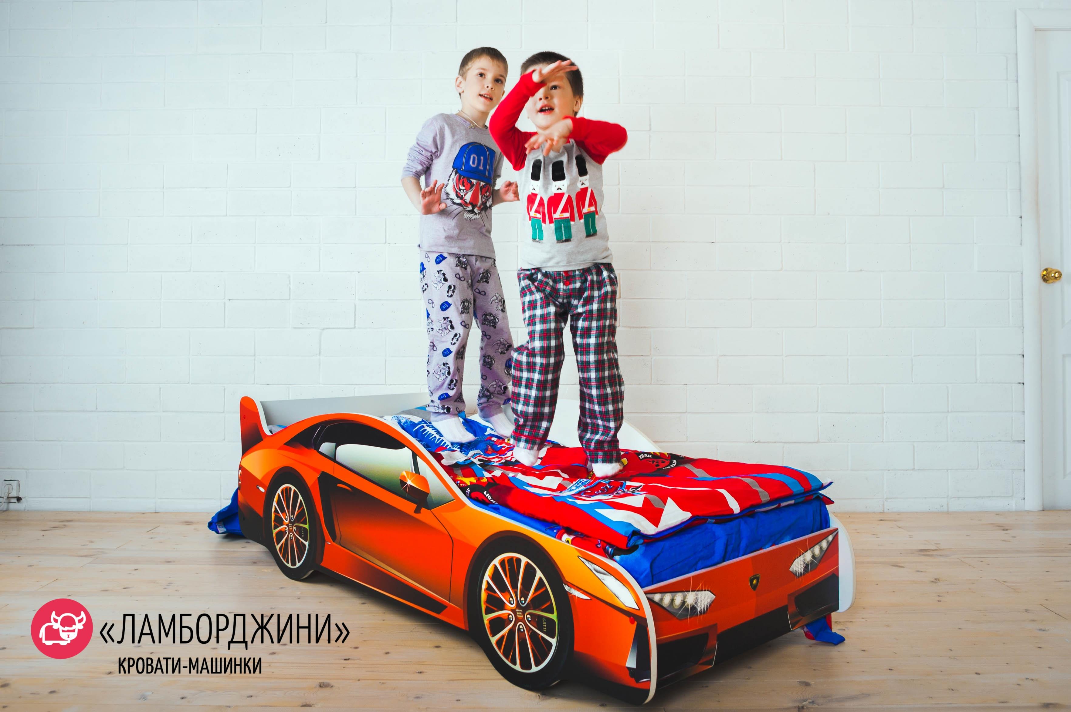 Детская кровать-машина -Ламборджини-2