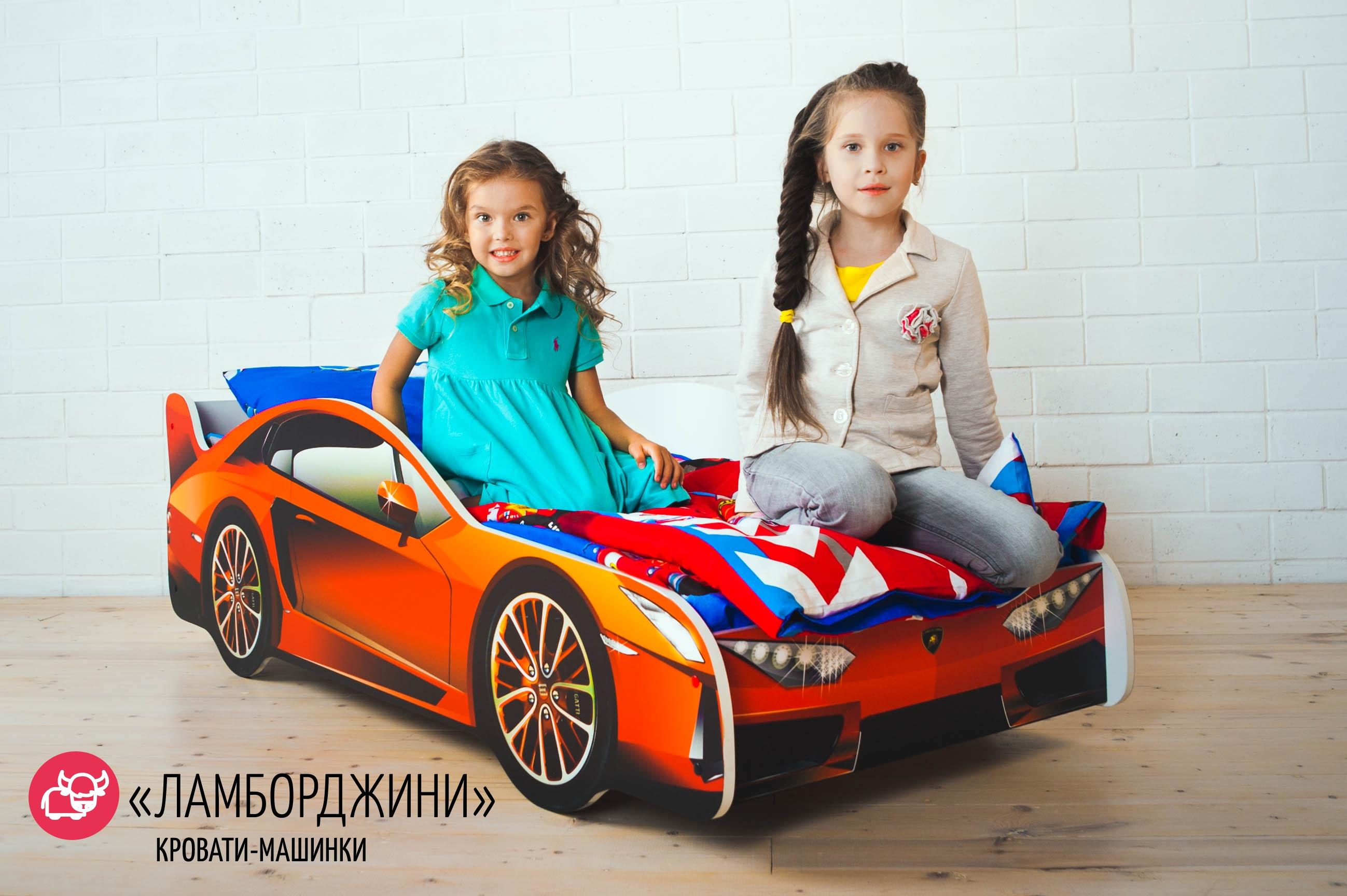 Детская кровать-машина -Ламборджини-7