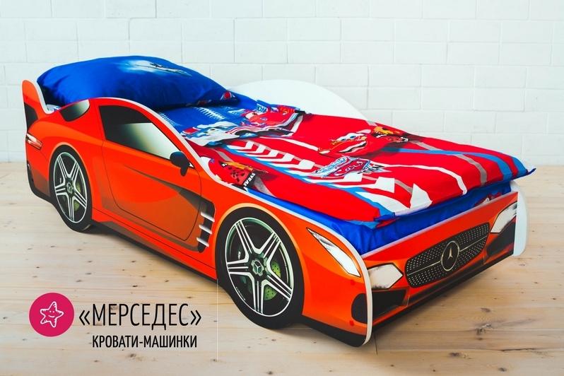 Детская кровать-машина -Мерседес-2
