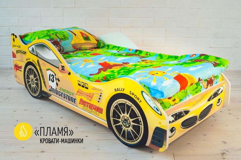 Детская кровать-машина -Пламя-3