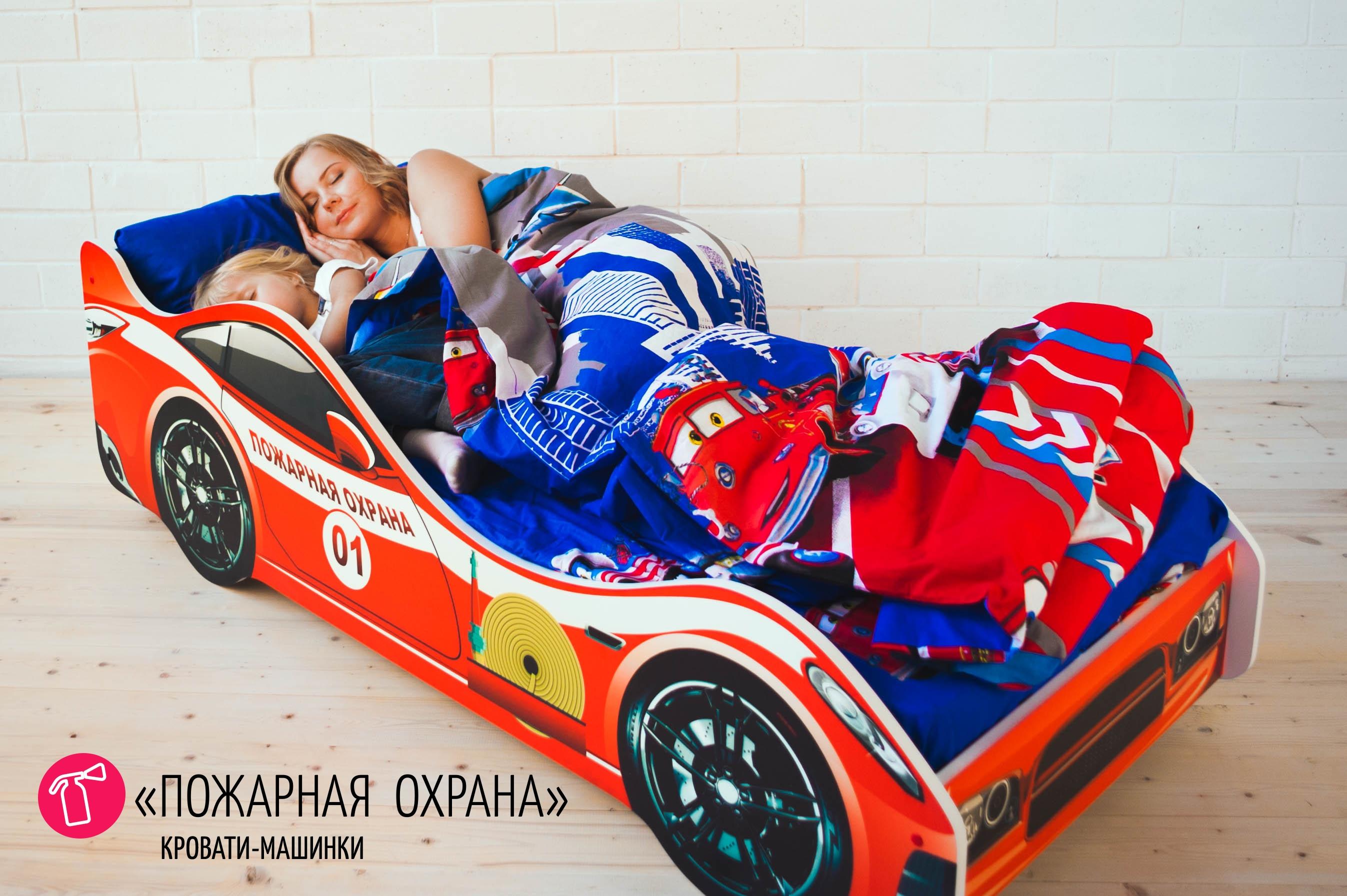 Детская кровать-машина -Пожарная охрана-3