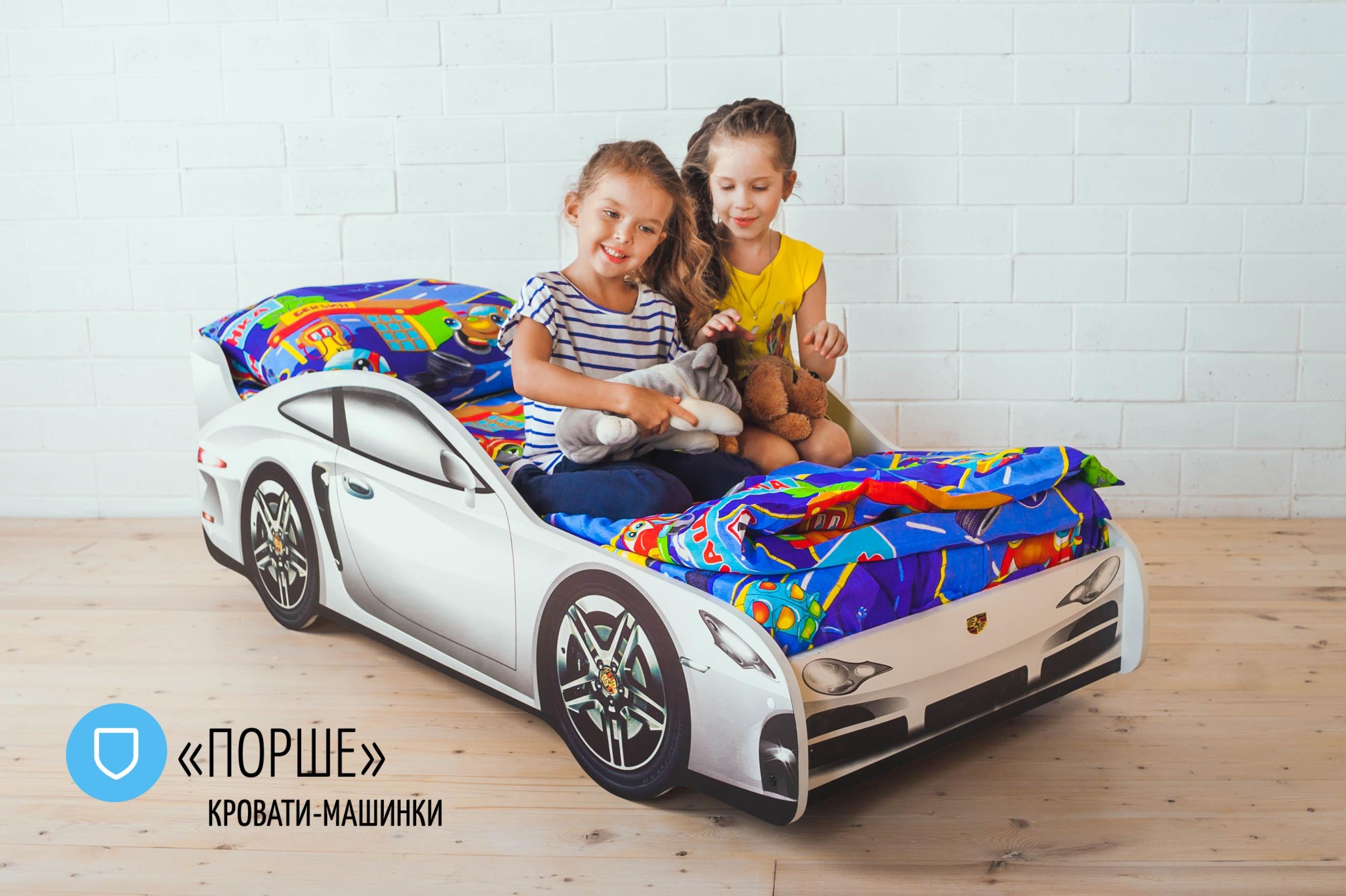 Детская кровать-машина -Порше-1