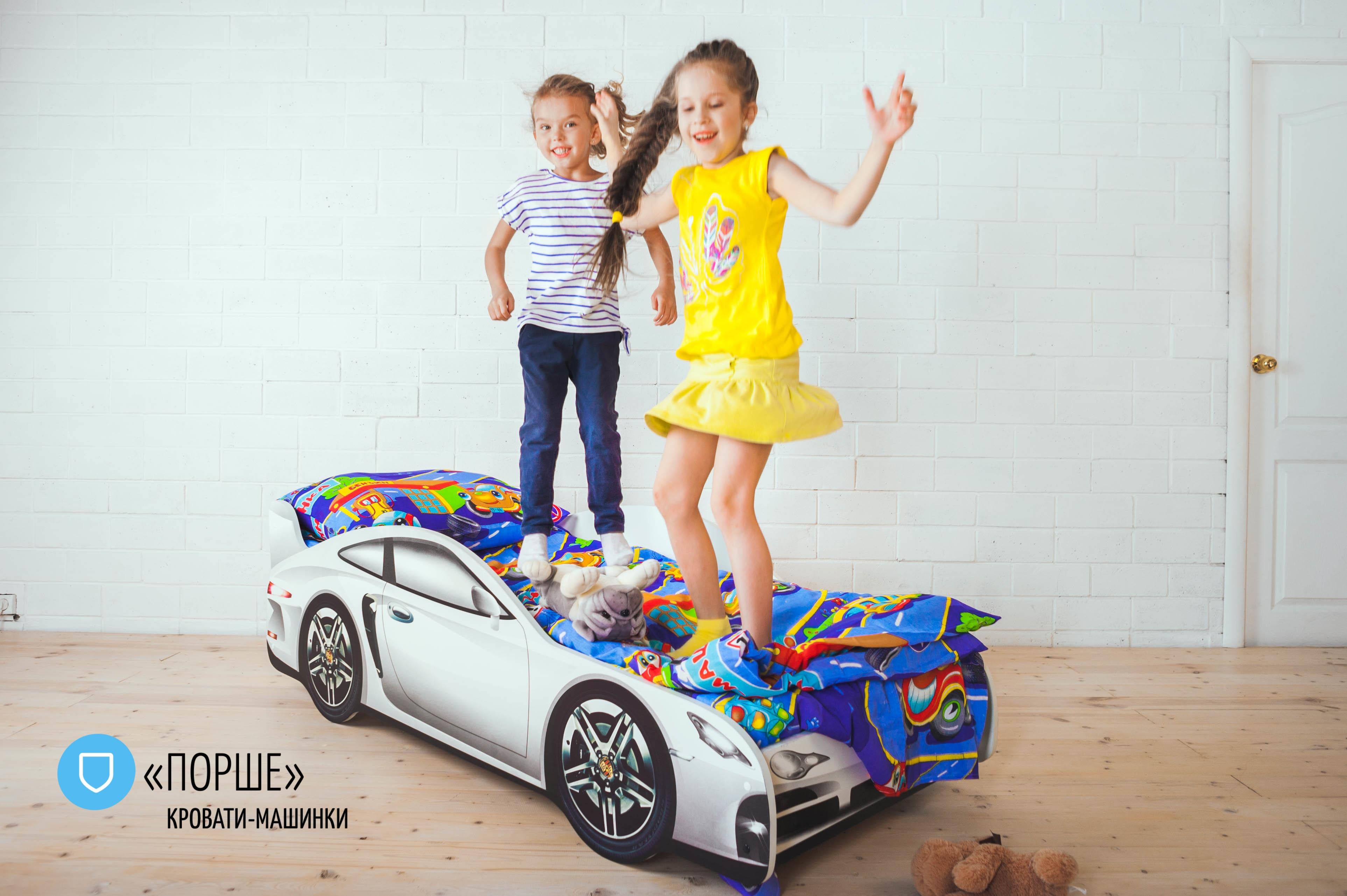Детская кровать-машина -Порше-3