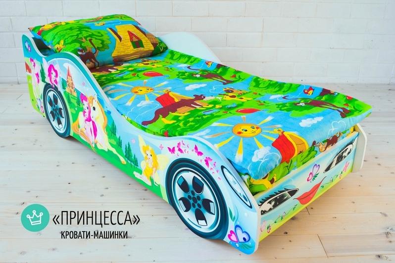 Детская кровать-машина -Принцесса-4