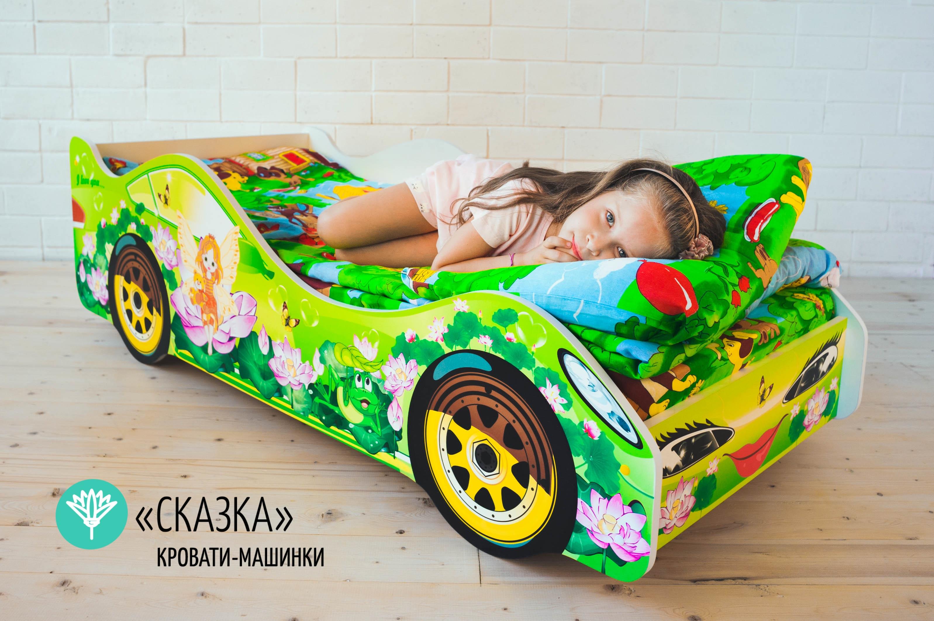 Детская кровать-машина -Сказка-2