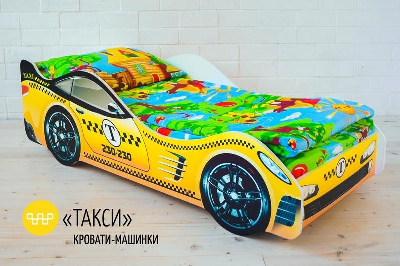 Детская кровать-машина -Такси-3